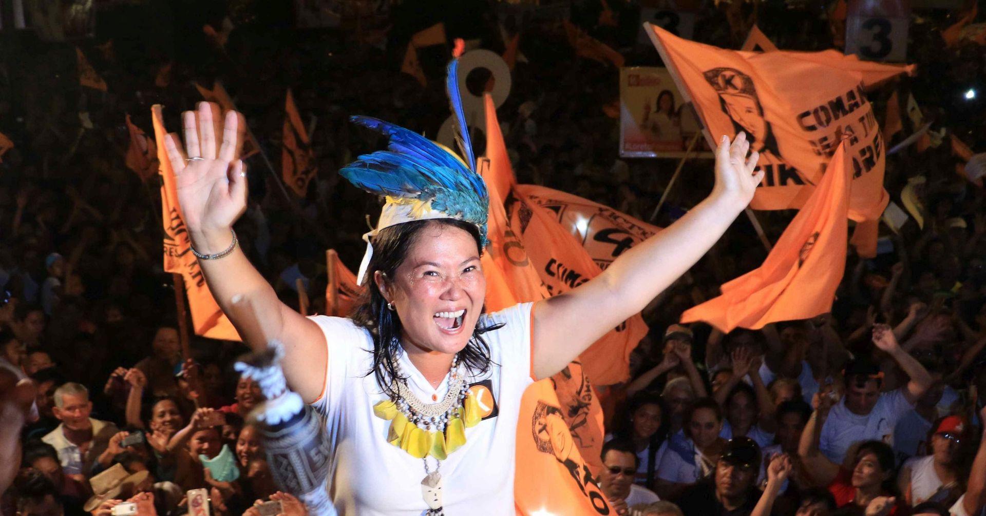 Peru: Keiko Fujimori vodi u prvom krugu predsjedničkih izbora