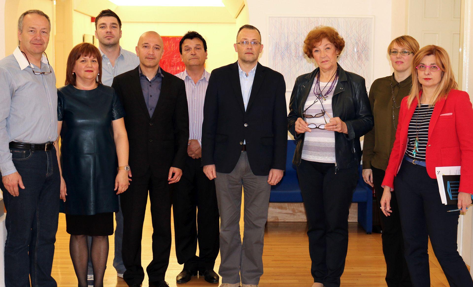 PREGOVORI: Ministar Hasanbegović razgovarao s predstavnicima Hrvatskog sindikata djelatnika u kulturi