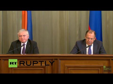VIDEO: Medijska konferencija ruskog i armenskog ministra vanjskih poslova