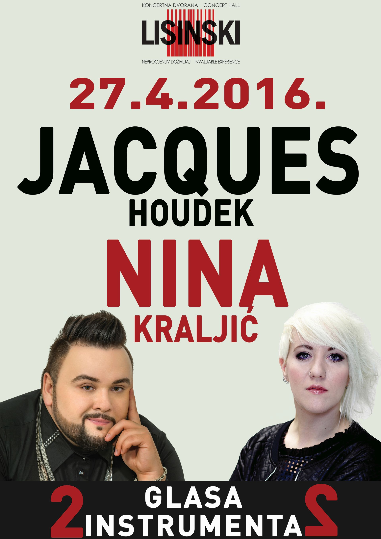 JACQUES HOUDEK & NINA KRALJIĆ: 'Dva glasa, dva instrumenta'