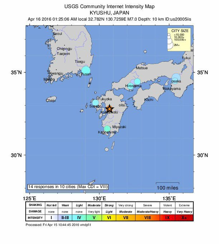 Snažan potres na sjeverozapadu Japana uzrokovao manji tsunami