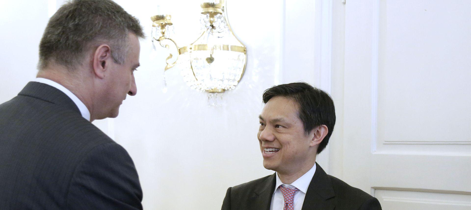 Karamarko i Yee potvrdili važnost LNG terminala na Krku