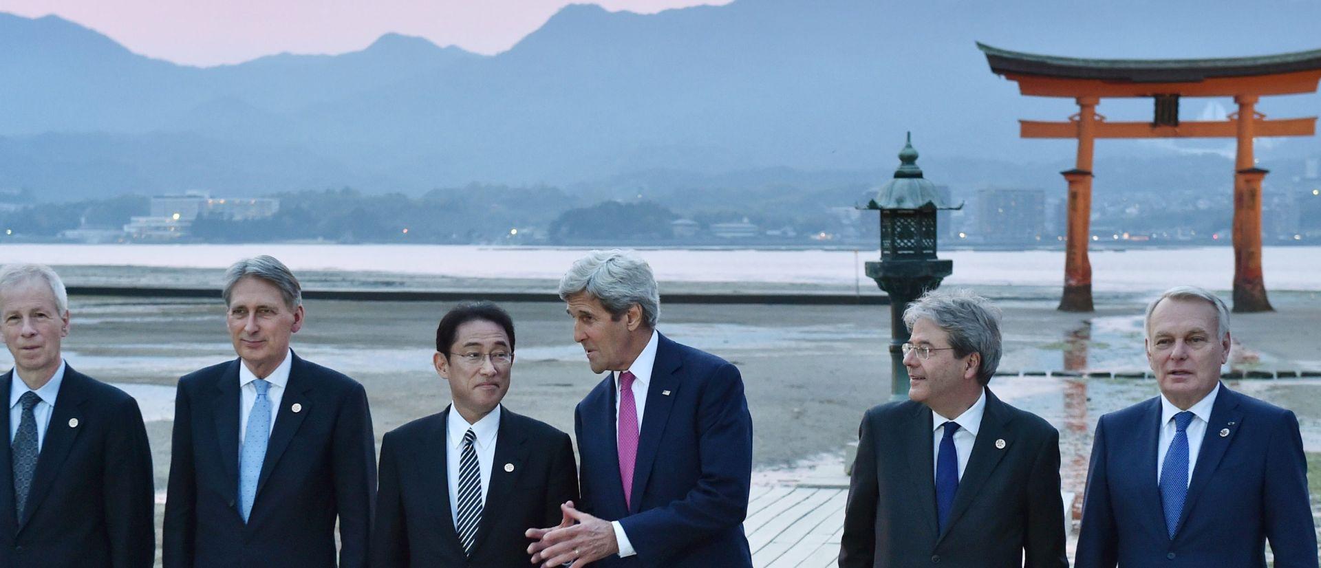 POVIJESNI DAN U HIROŠIMI: Kerry i G7 odali počast žrtvama atomske bombe