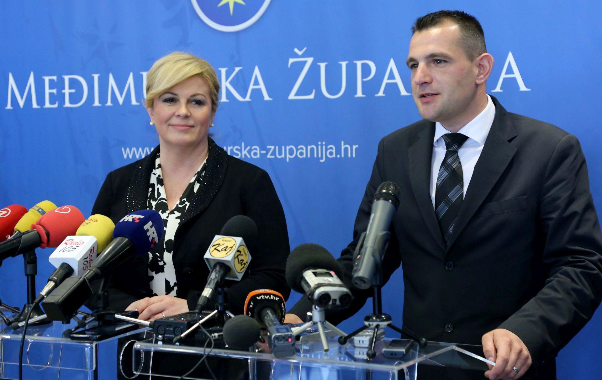 Grabar Kitarović: Zadržati sadašnji sastav županija, ali ga učiniti racionalnim
