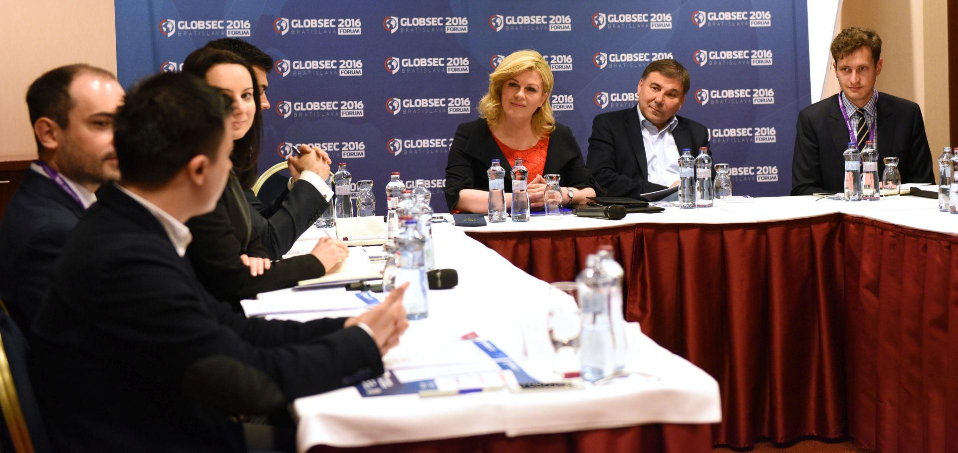 Kolinda Grabar-Kitarović: Za migracije potrebno sveobuhvatno rješenje