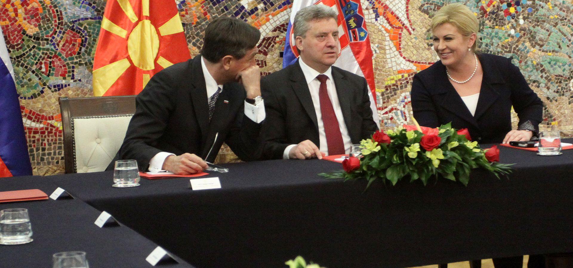 Kolinda Grabar-Kitarović: Skoplje zaslužuje puno snažniju potporu Europske unije