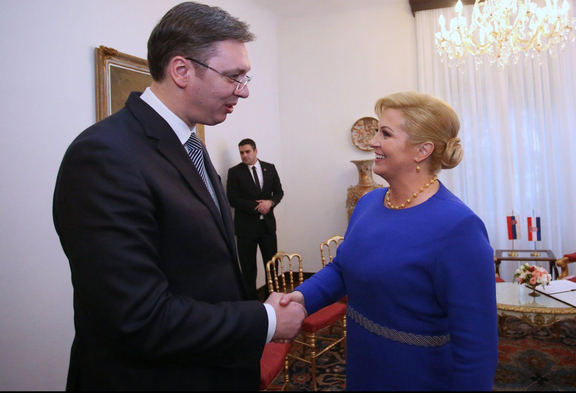 Hoće li Vučić prihvatiti poziv za posjet Hrvatskoj?