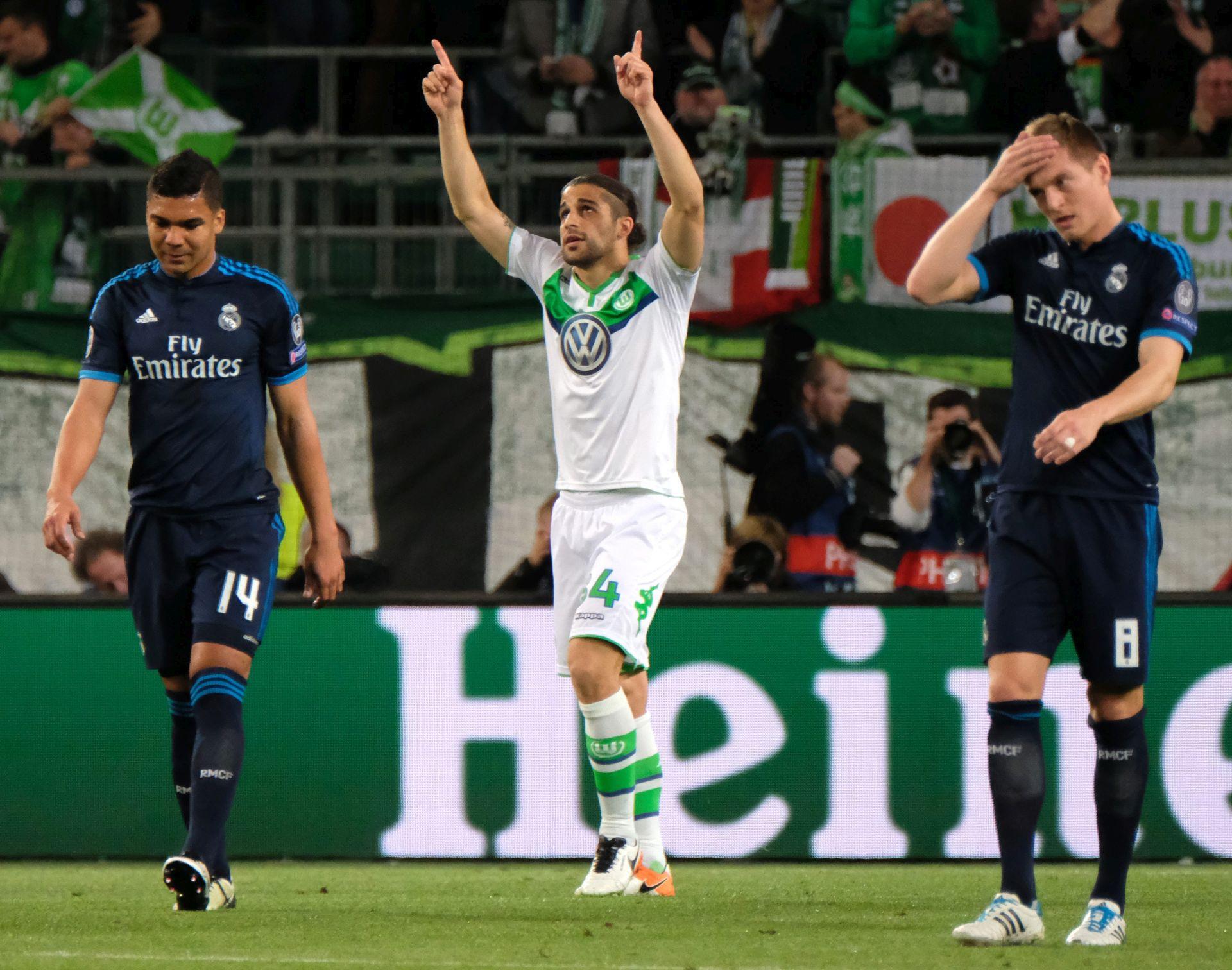 Liga prvaka: Iznenađenje Wolfsburga, remi u Parizu