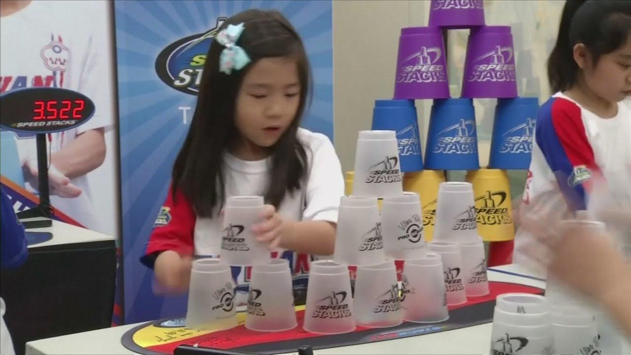 VIDEO: Mlade nade World Sport Stacking Associationa
