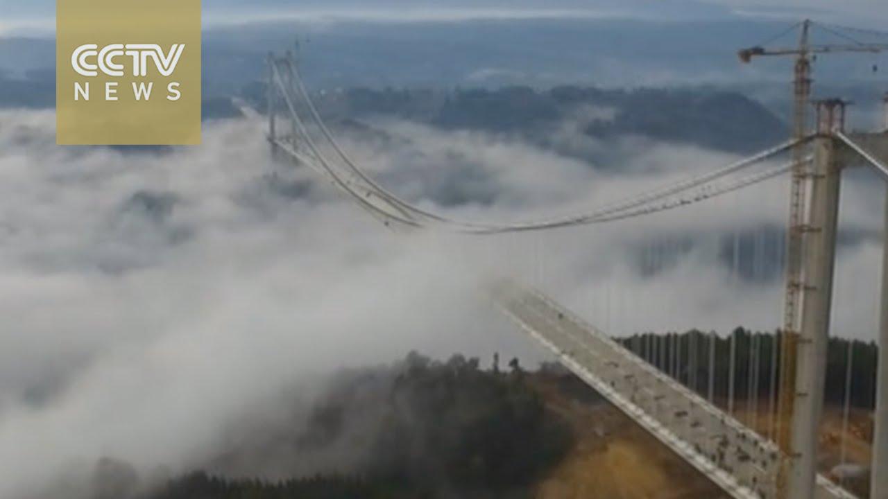 VIDEO: Uskoro se otvara najviši prometni most u Aziji