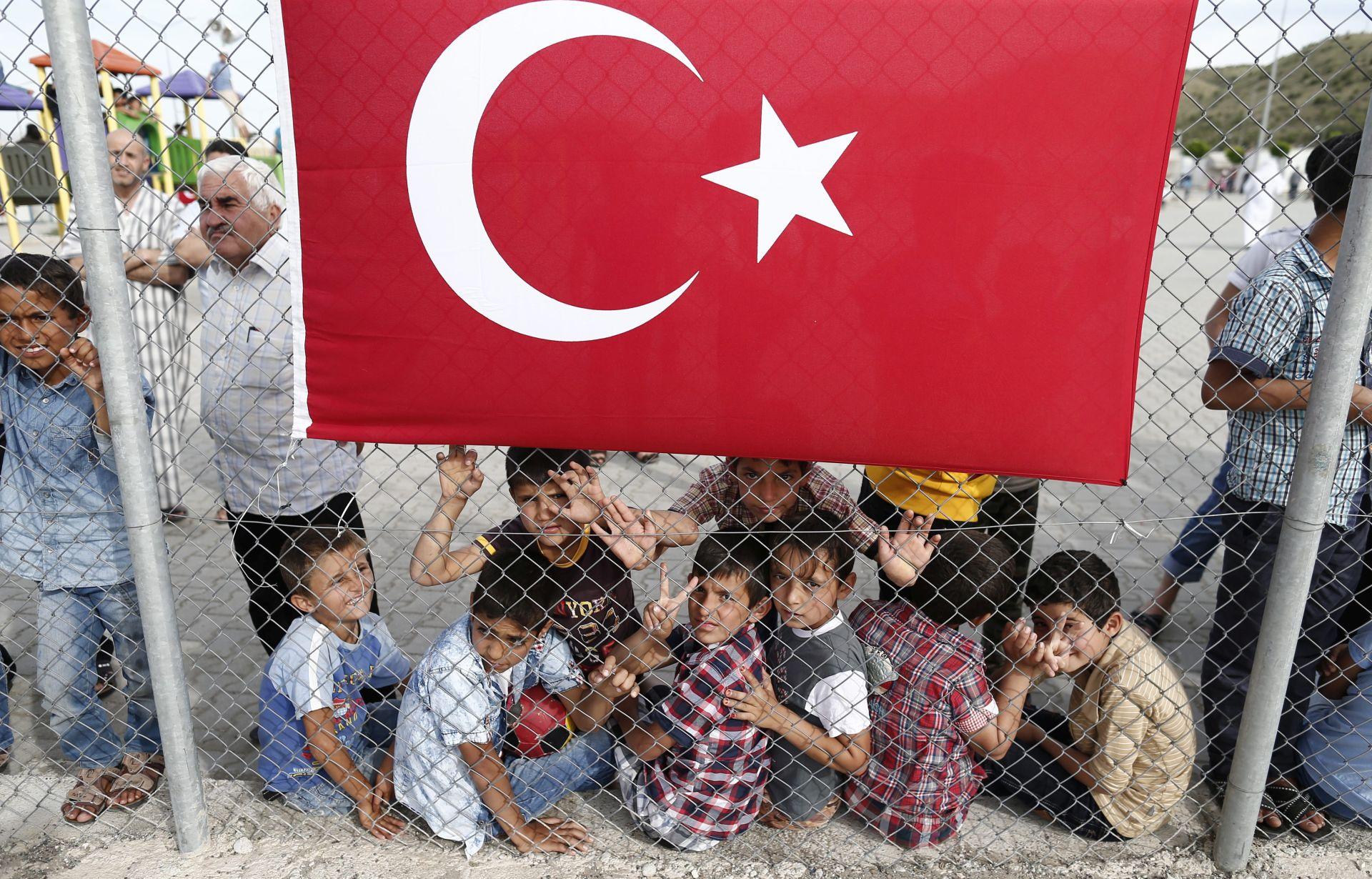 IZBJEGLIČKI KAMP: Angela Merkel i dužnosnici EU-a u Turskoj