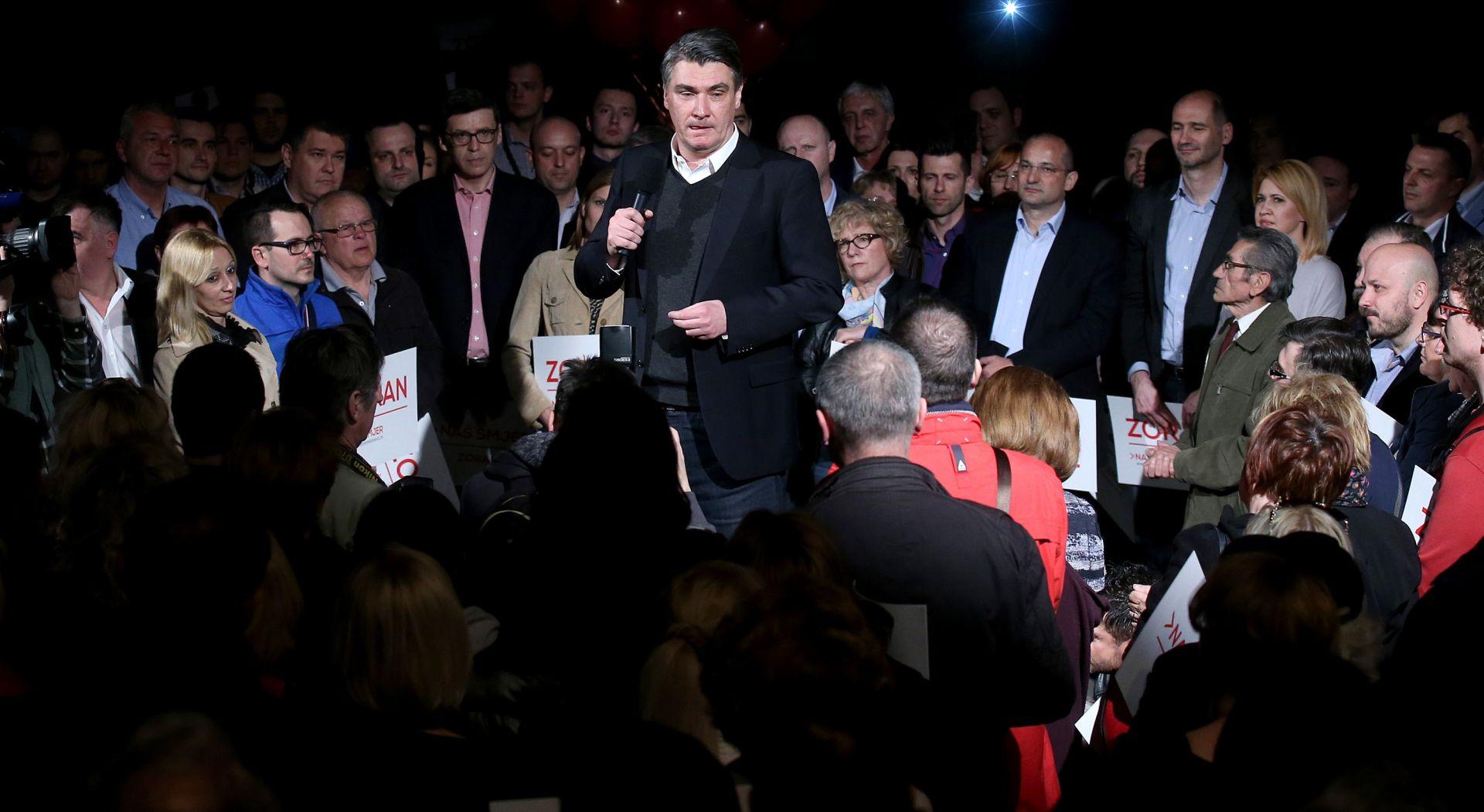 Zoran Milanović: 'Vjerujem da ću stranku voditi u još jednu parlamentarnu pobjedu'