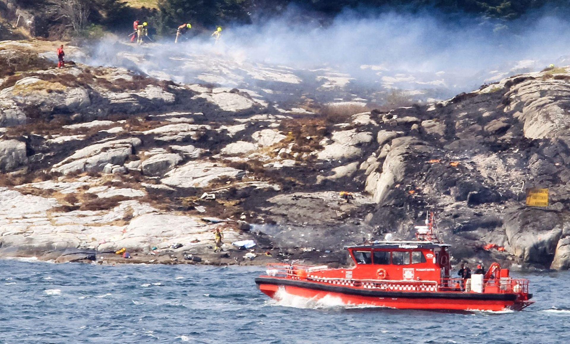 VELIKA NESREĆA U NORVEŠKOJ: Srušio se helikopter s 13 osoba,najmanje 11 mrtvih