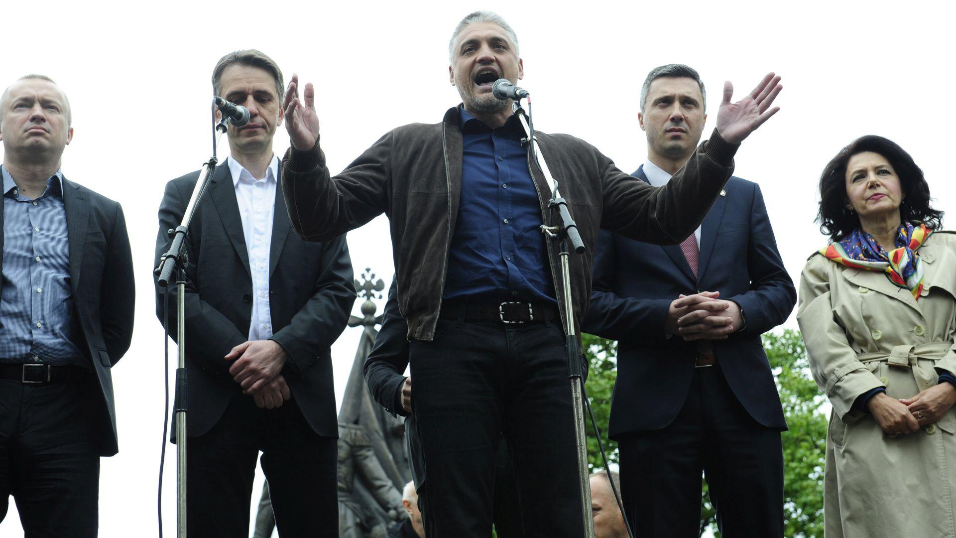 SUMNJA U IZBORNU KRAĐU: Prosvjed srbijanske oporbe zbog izbornih rezultata