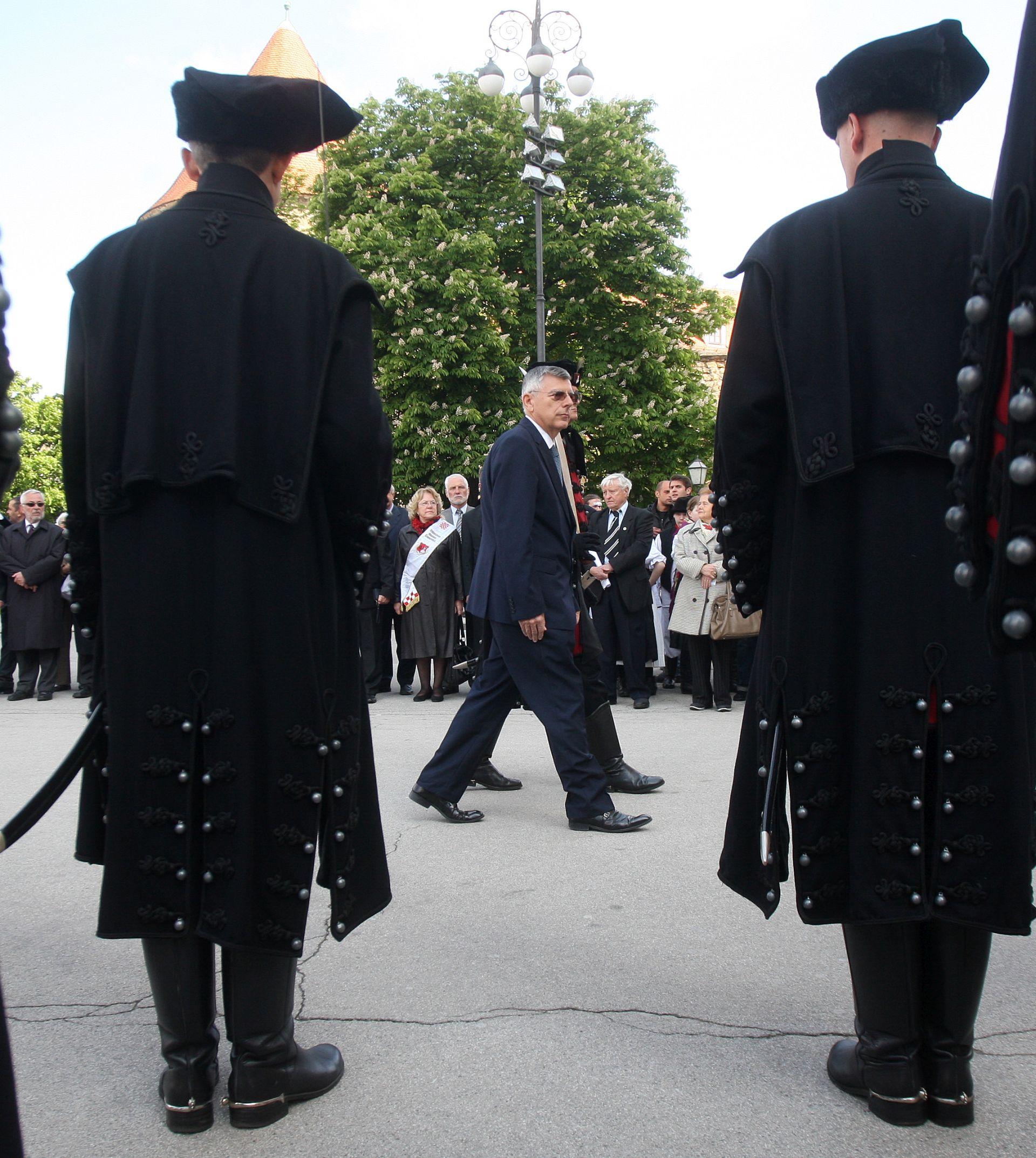 ZAGREBAČKA KATEDRALA: Željko Reiner na obilježavanju Spomendana Zrinskih i Frankopana