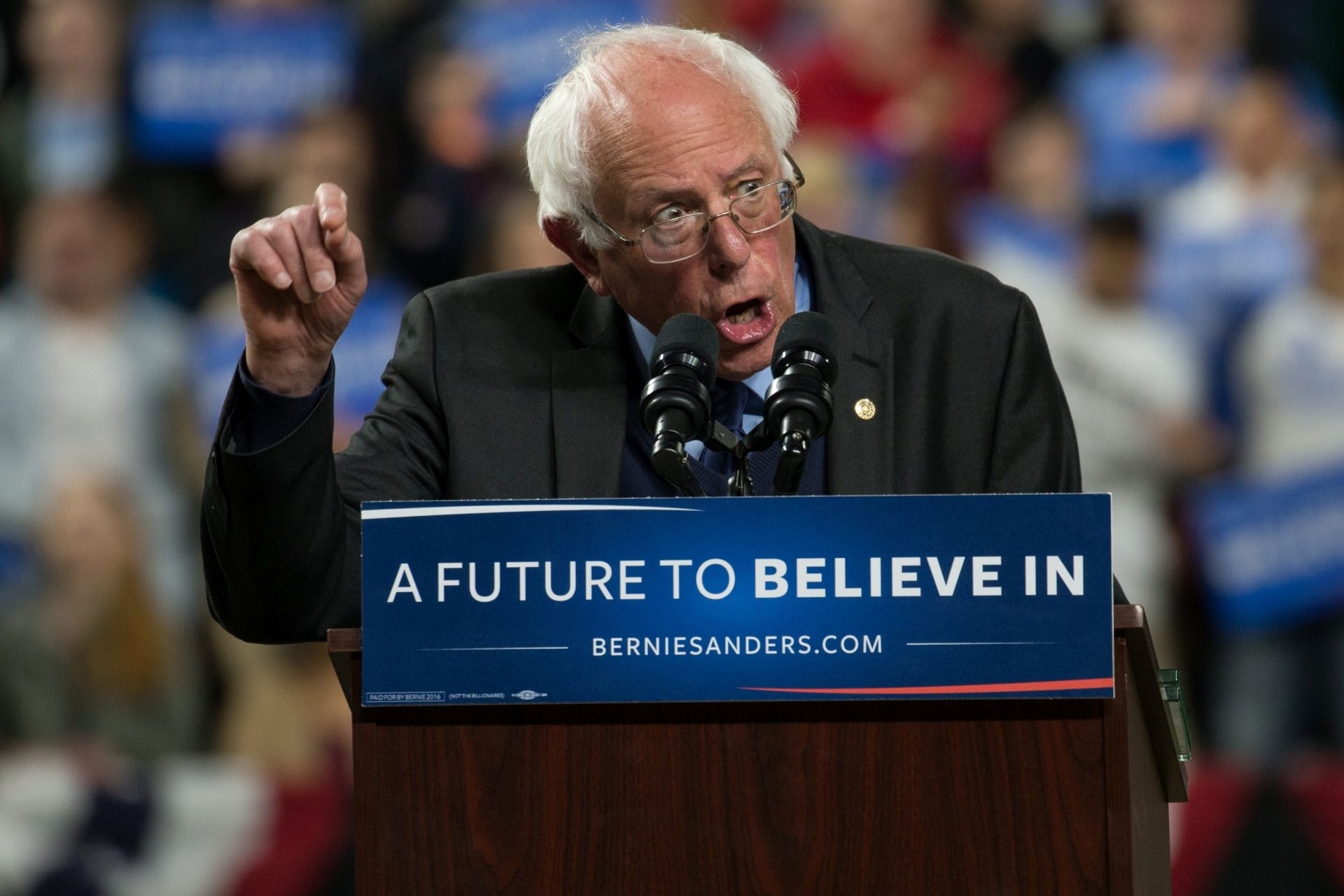 UTRKA ZA BIJELU KUĆU: Sanders pobjedio Clinton u Wyomingu