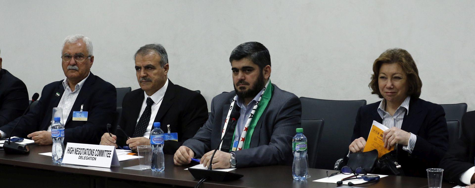 """""""Američka nejasnoća"""": Sirijska oporba zabrinuta oko tranzicije"""