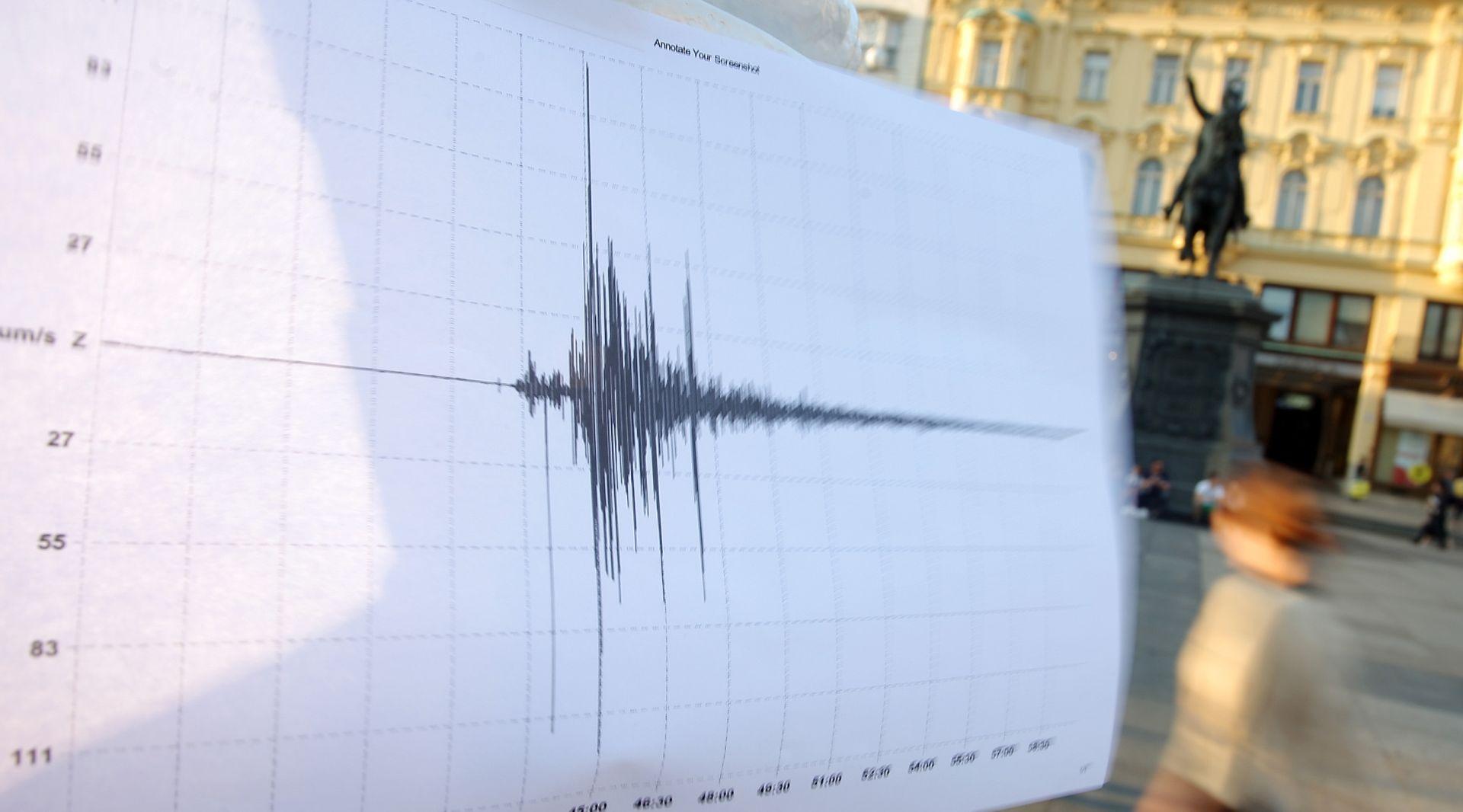 Seizmološka služba RH: Potres kod Brežica umjeren, 3,6 prema Richteru
