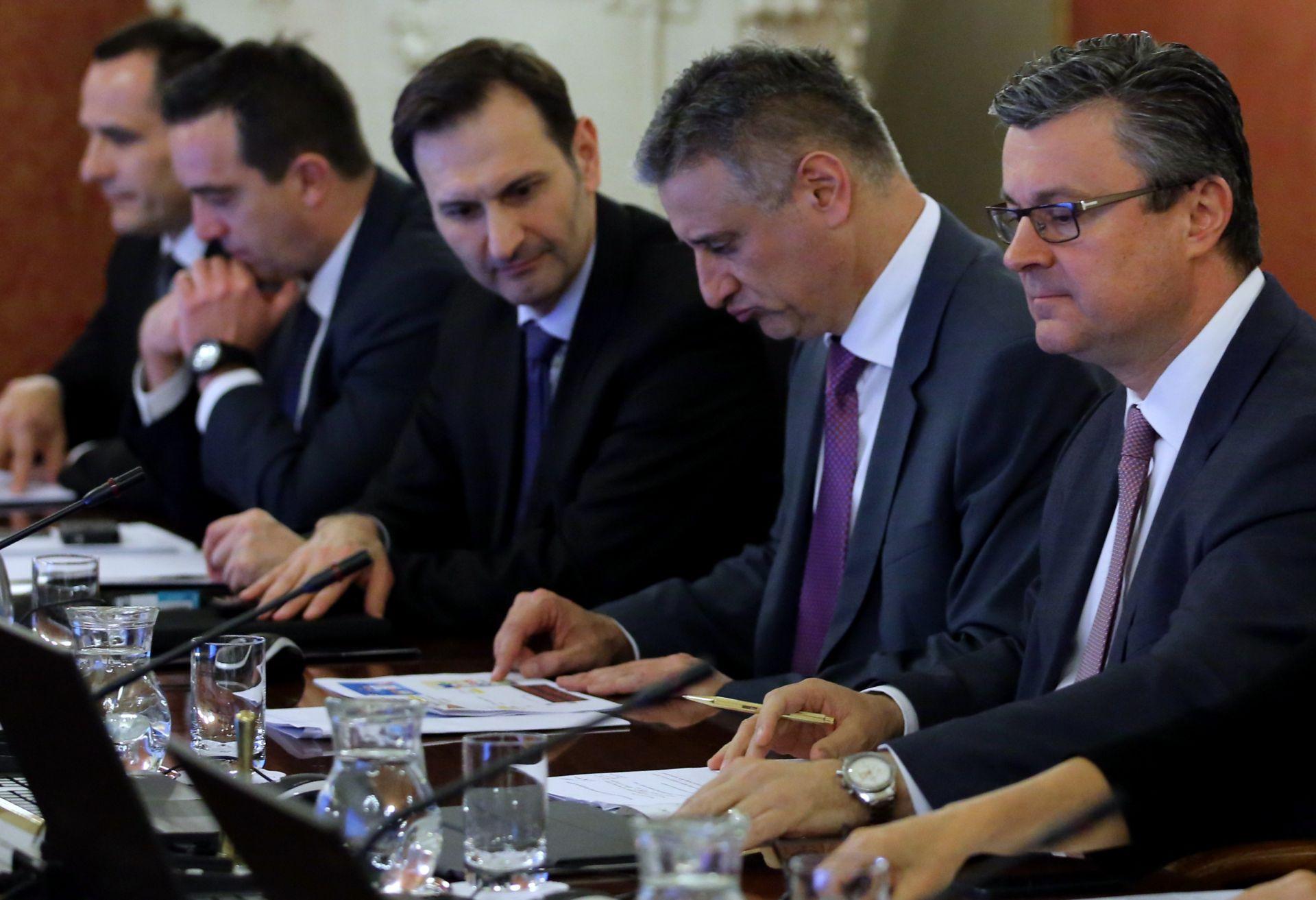 ZATVORENI DIO SJEDNICE: Prihvaćenostajalište za sastanak Vijeća za pravosuđe i unutarnje poslove