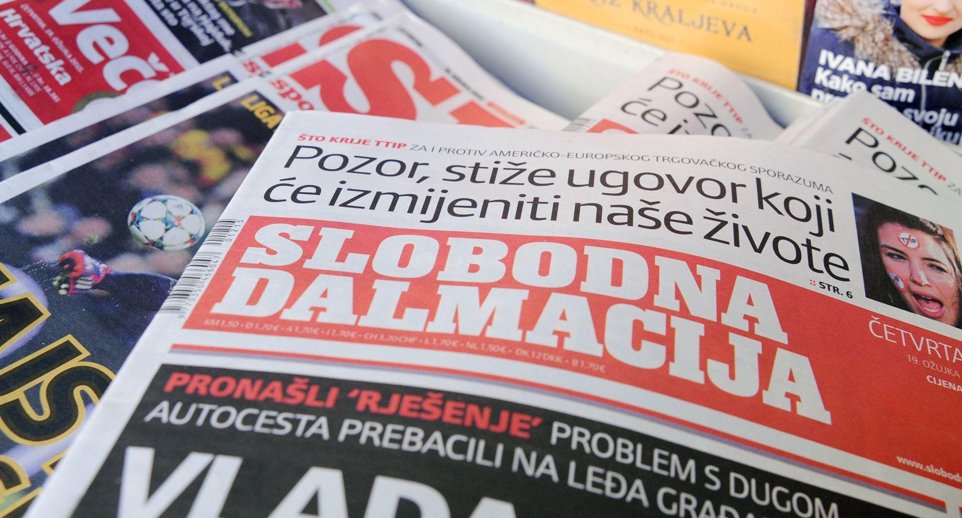 NAKON OSAM GODINA: Slobodna Dalmacija od nedjelje opet u svom Splitu