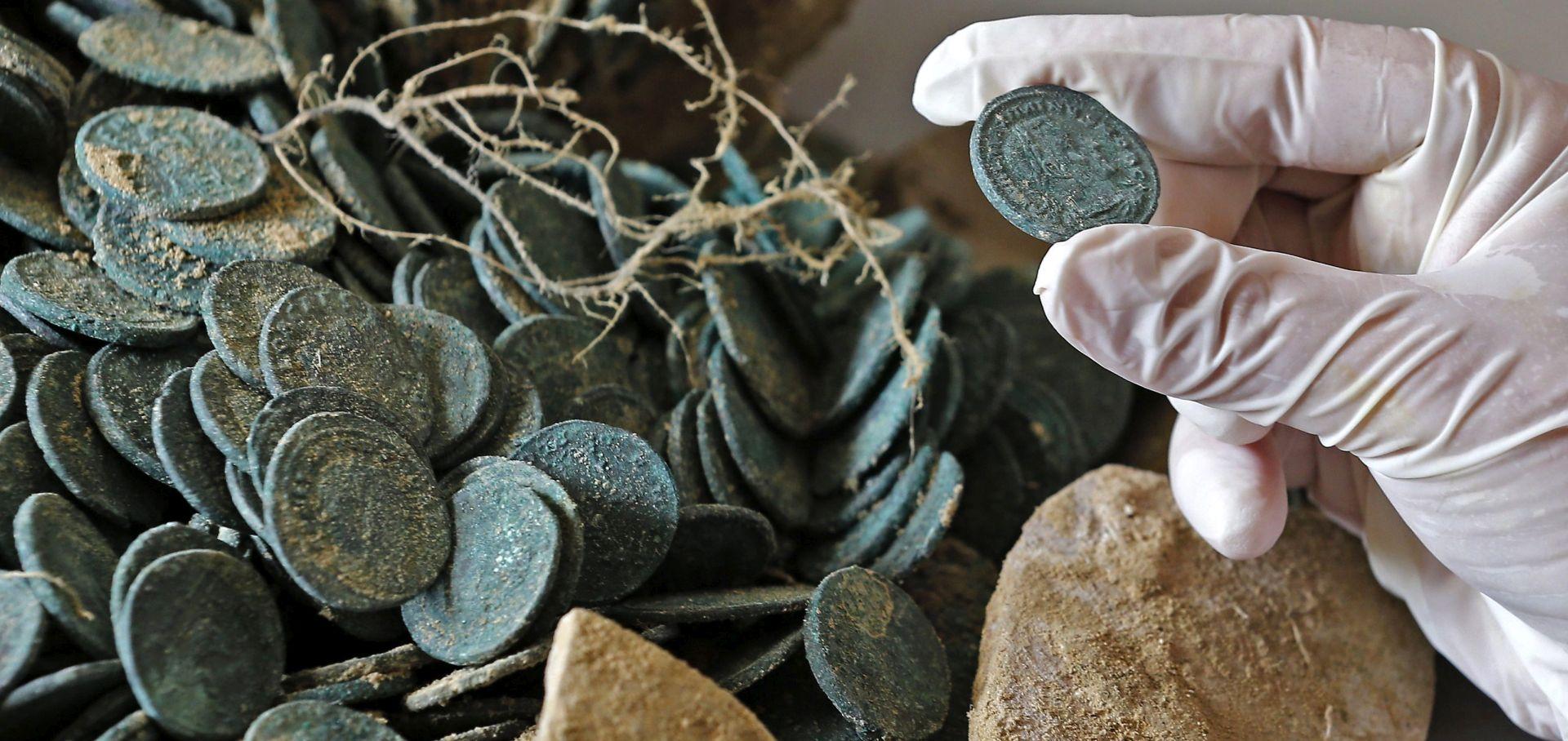 Španjolska: Otkriveno 600 kilograma rimskih kovanica