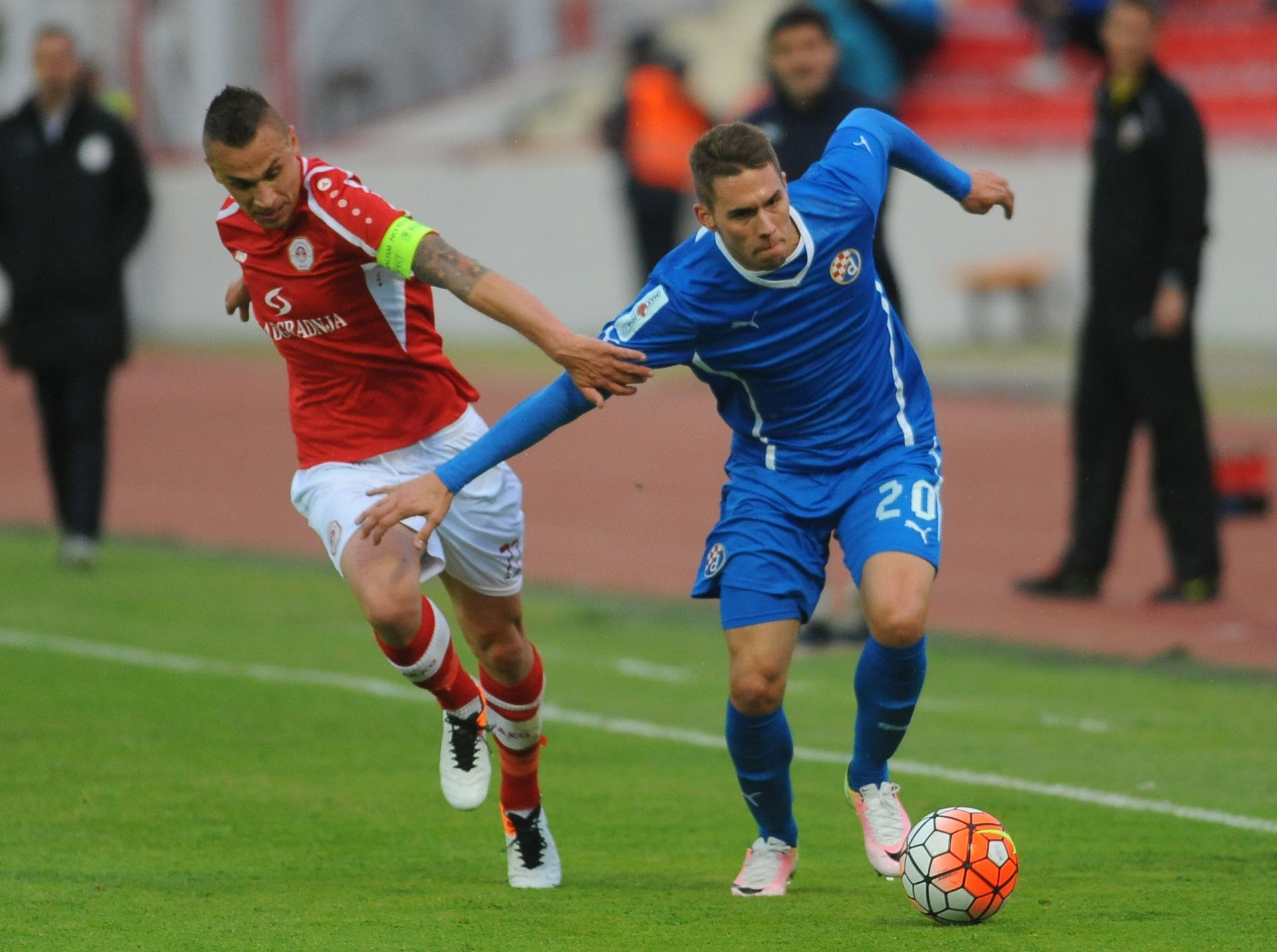 HNL: RNK Split – Dinamo 0-1