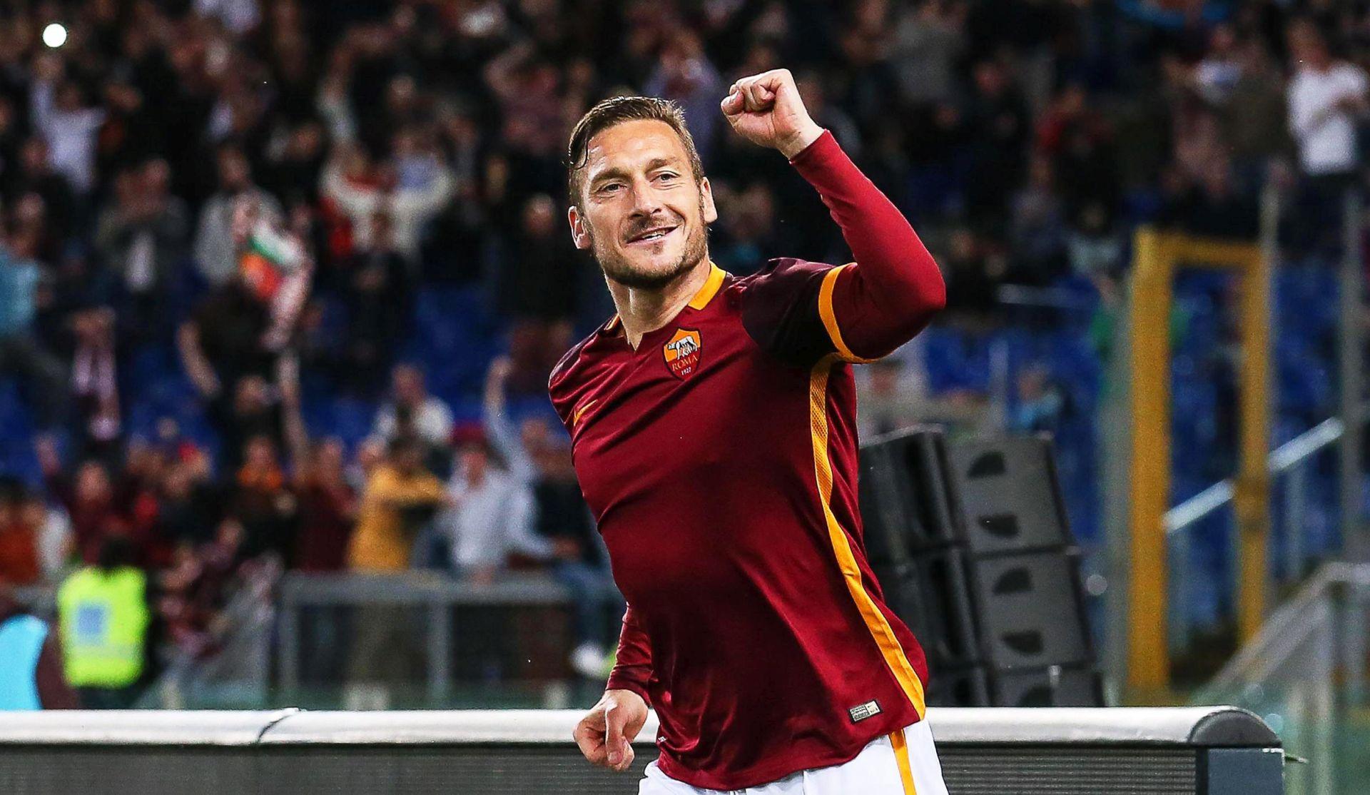TALIJANSKI KUP Francesco Totti Romi donio polufinale u 97. minuti