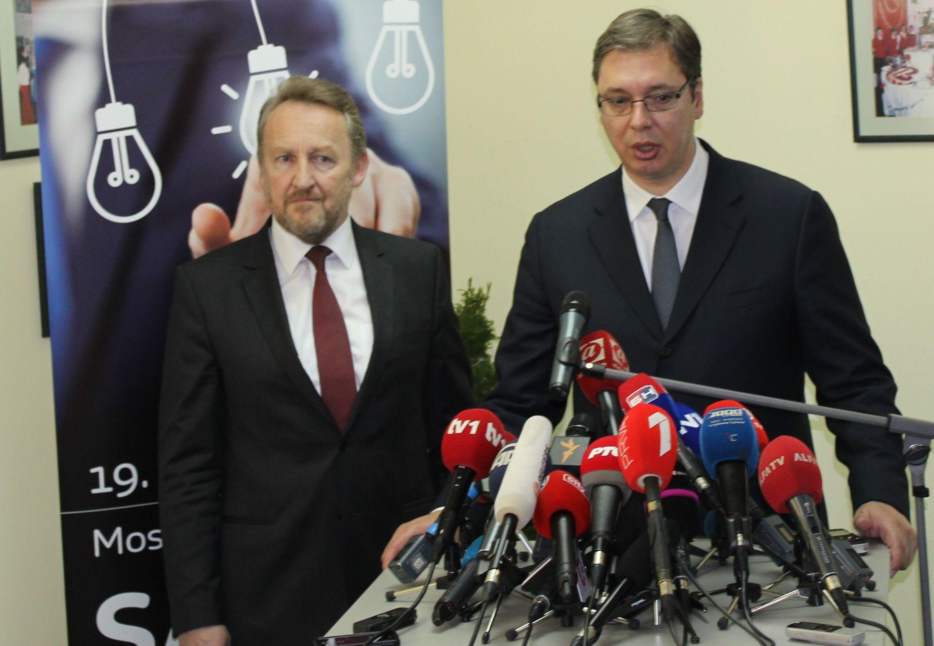 Sastanak Vučić-Izetbegović: Odnosi Srba i Bošnjaka ključni za mir u regiji