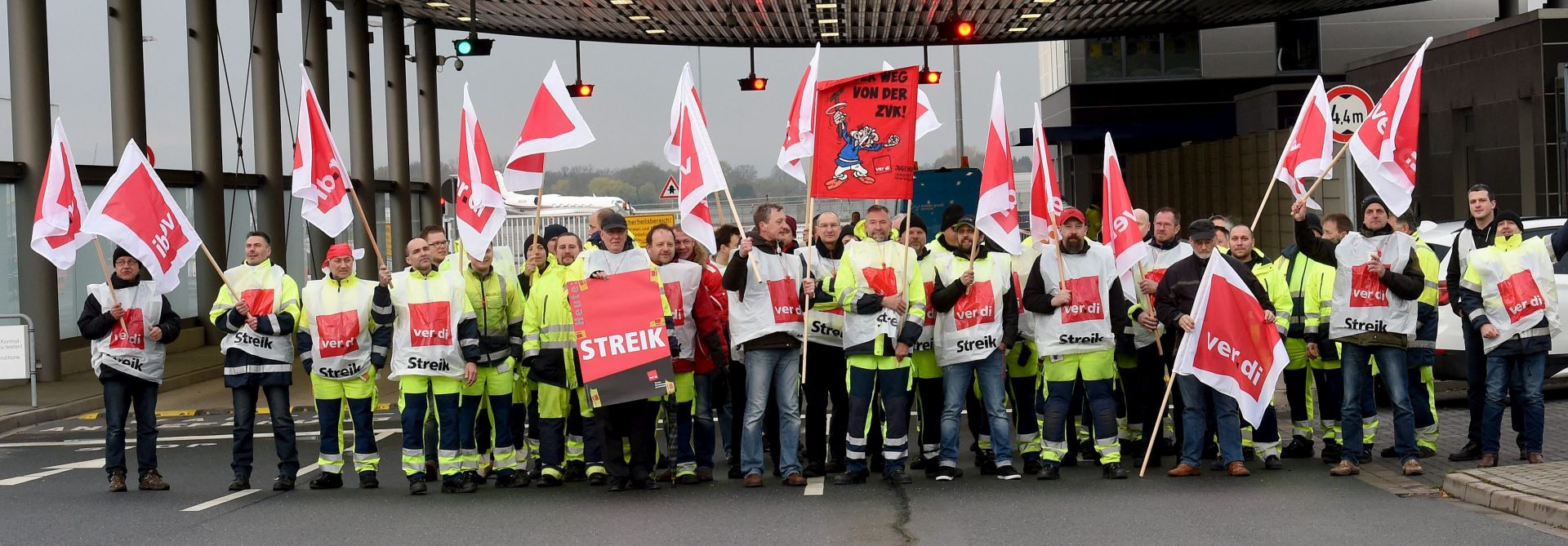 ODGODE LETOVA: Štrajk u šest njemačkih zračnih luka