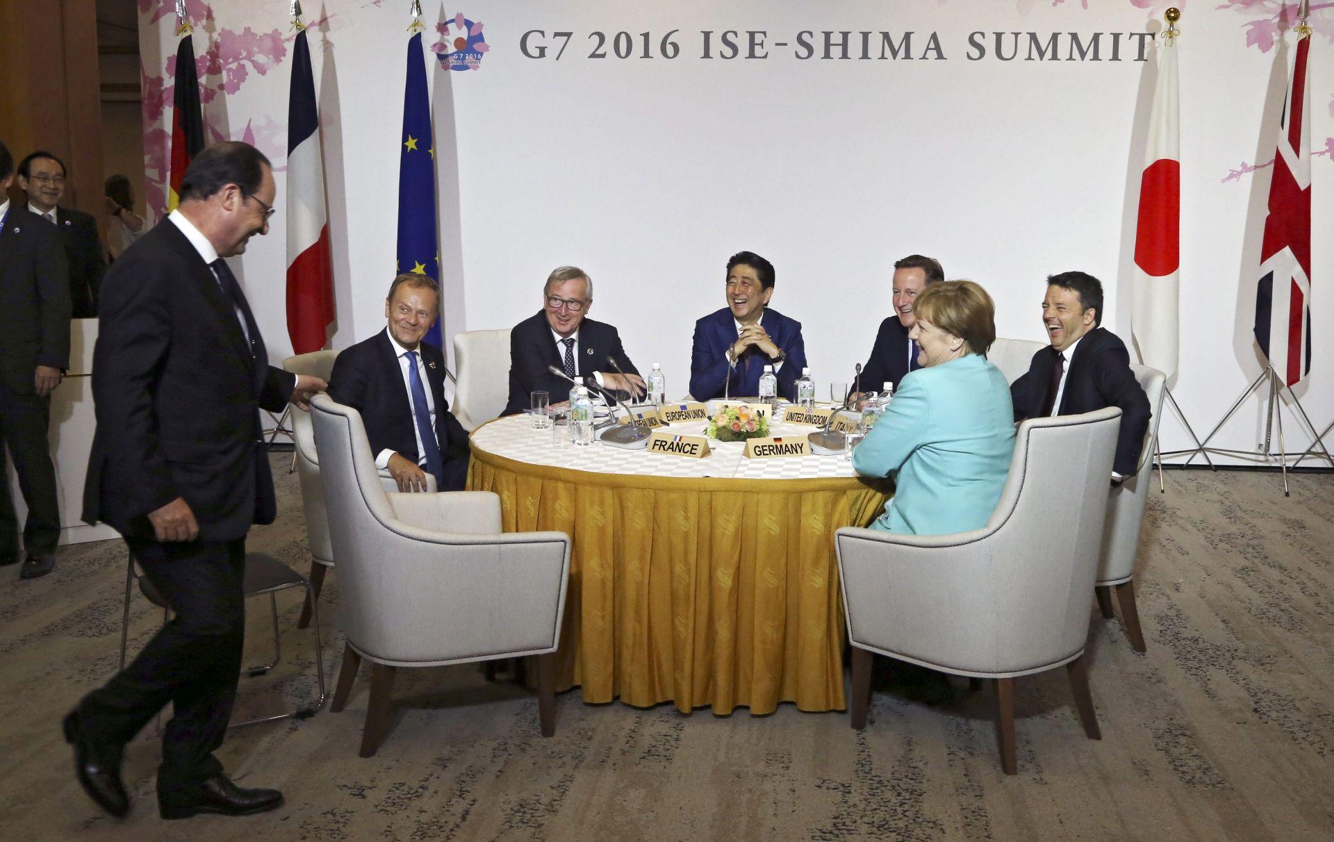 SUMMIT G7: O mjerama za poticanje gospodarskog rasta i globalnim krizama