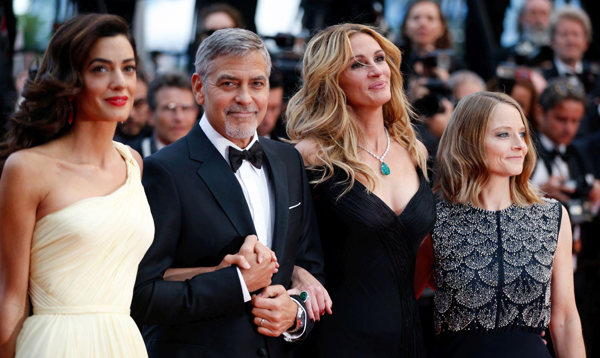 FOTO: CANNES 2. DAN: Trump neće biti američki predsjednik, kaže Clooney