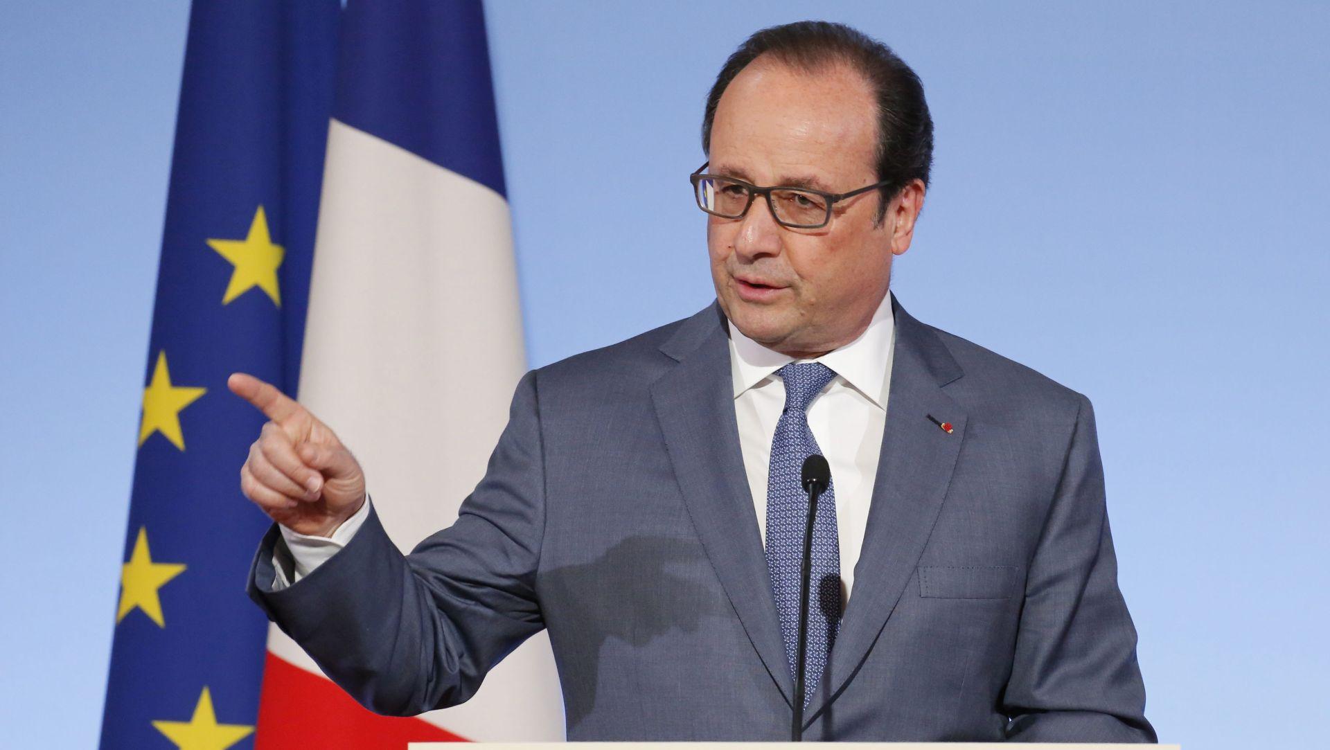 Hollande ne odustaje od reforme zakona o radu