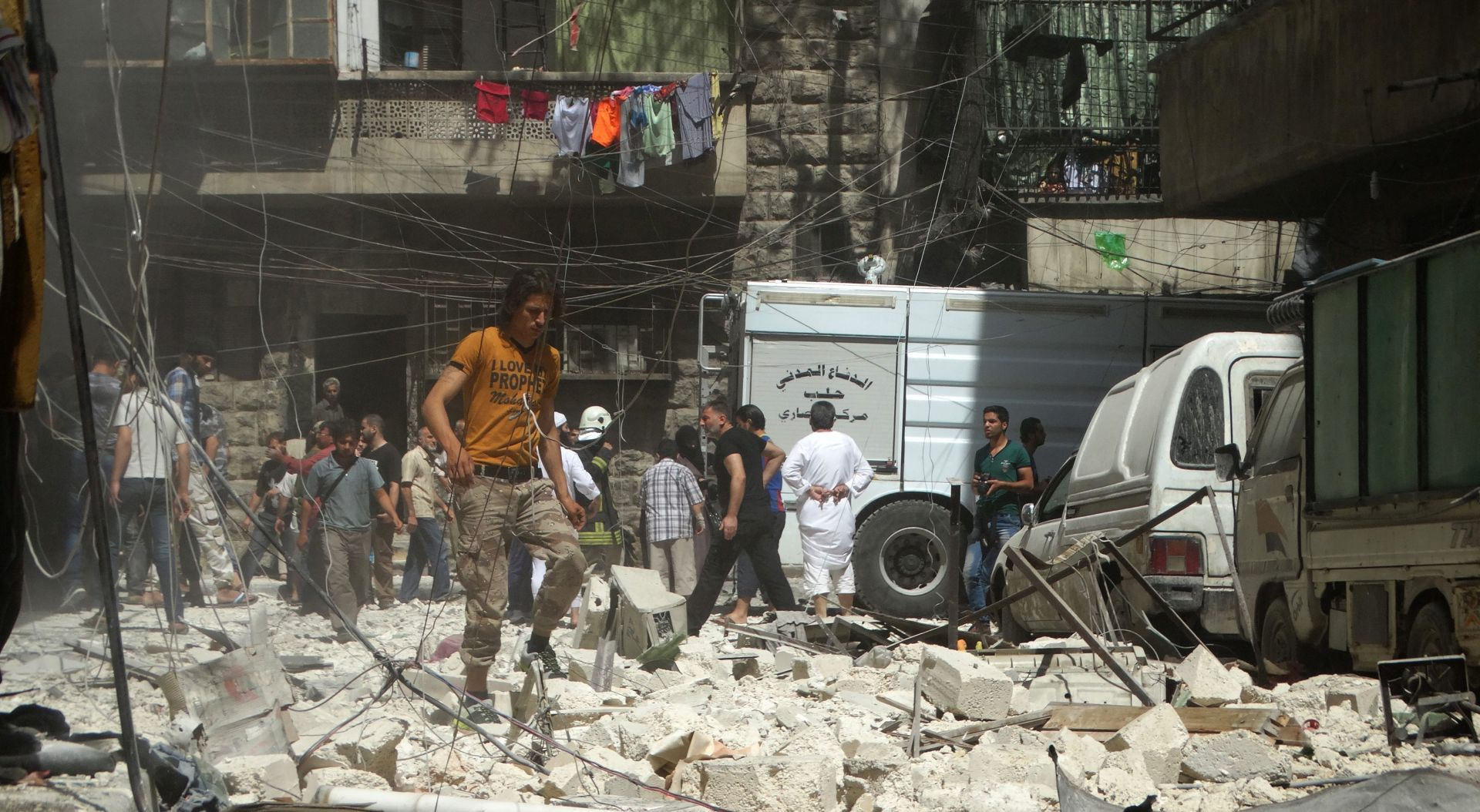SIRIJA U pobunjeničkom granatiranju na Aleppo poginulo najmanje 19 osoba