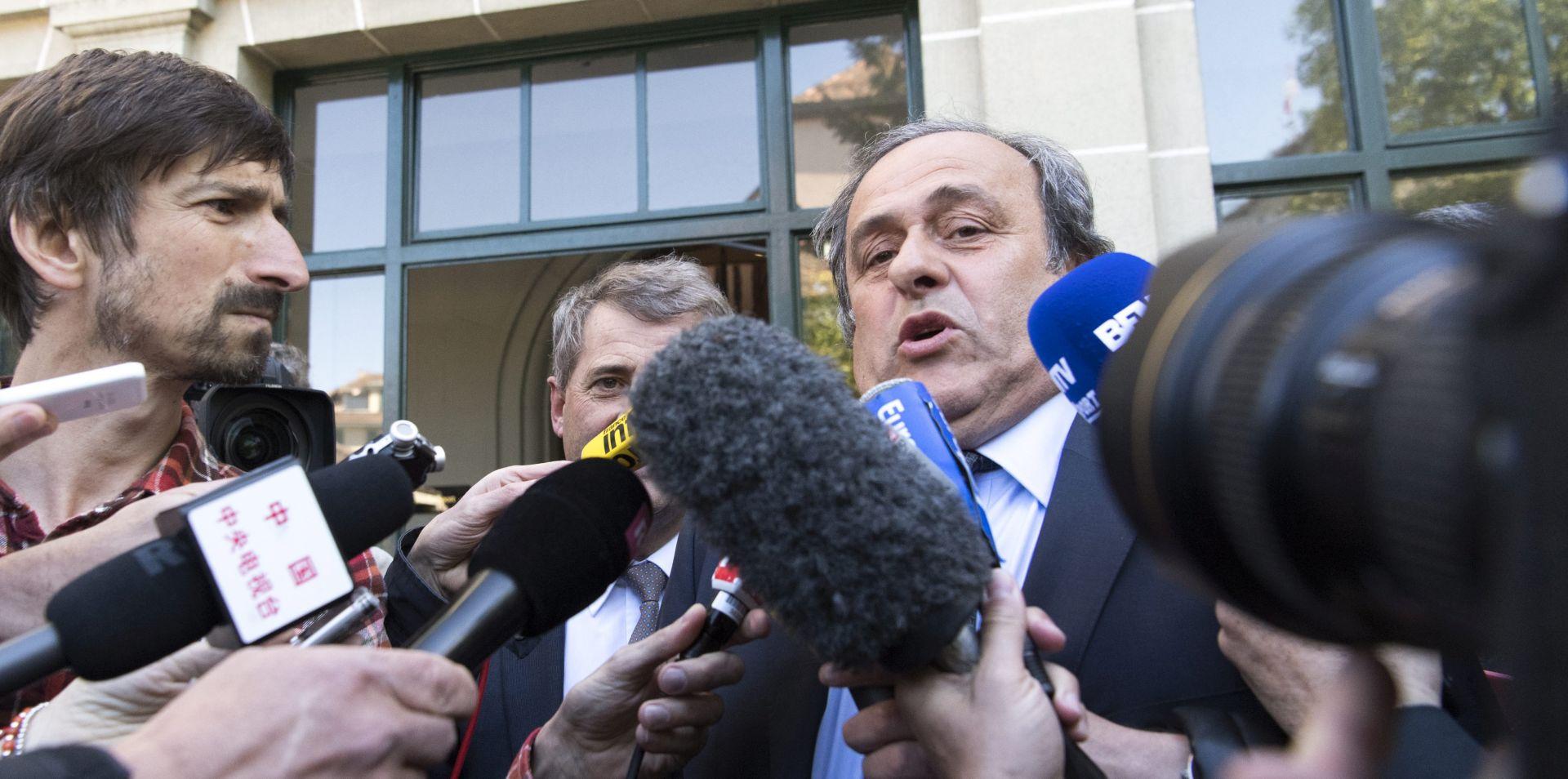 ODBIJENA ŽALBA Michel Platini podnijet će ostavku u UEFA-i