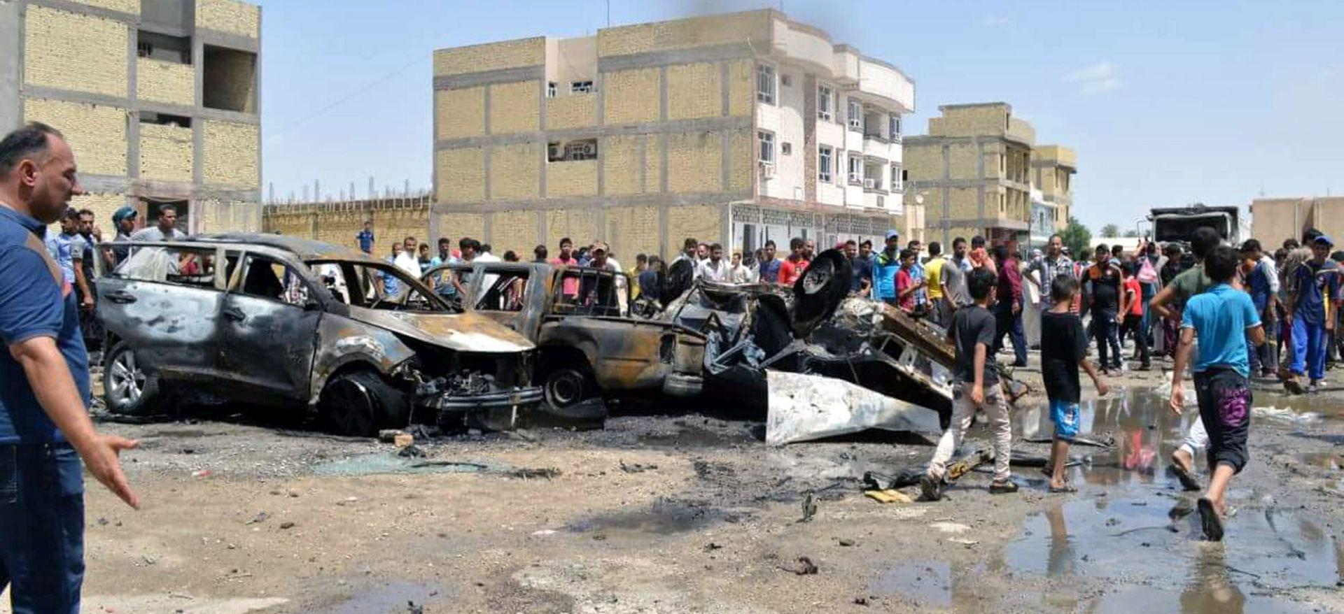 DVA BOMBAŠKA NAPADA U BAGDADU Najmanje 13 poginulih i 40 ozlijeđenih