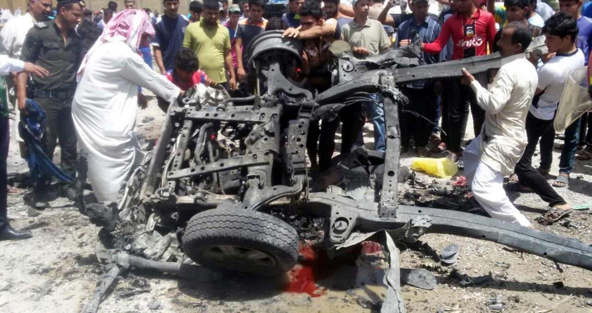 IS PREUZEO ODGOVORNOST Broj poginulih u napadima u Bagdadu porastao na 35