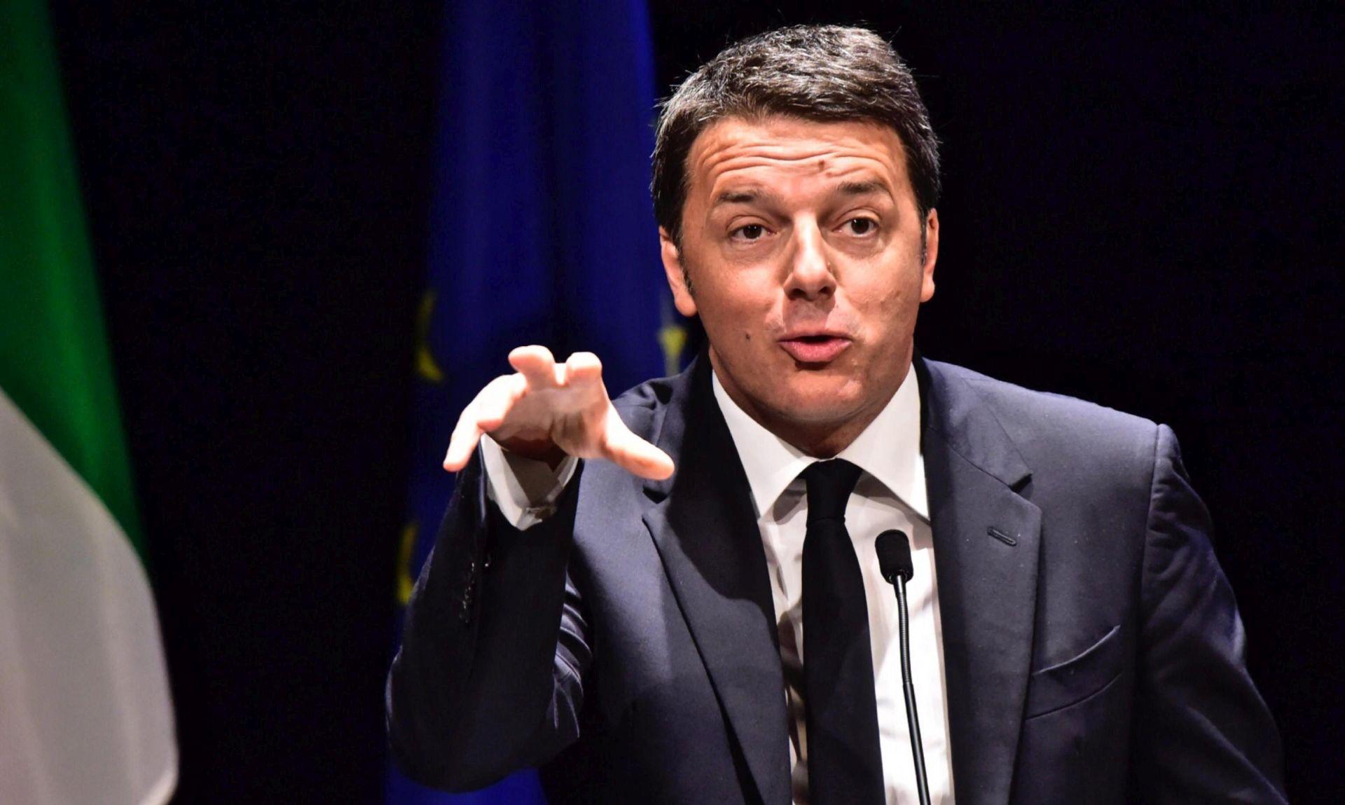 """Renzi kaže da bi austrijska ograda na granici mogla """"probuditi duhove iz prošlosti"""""""