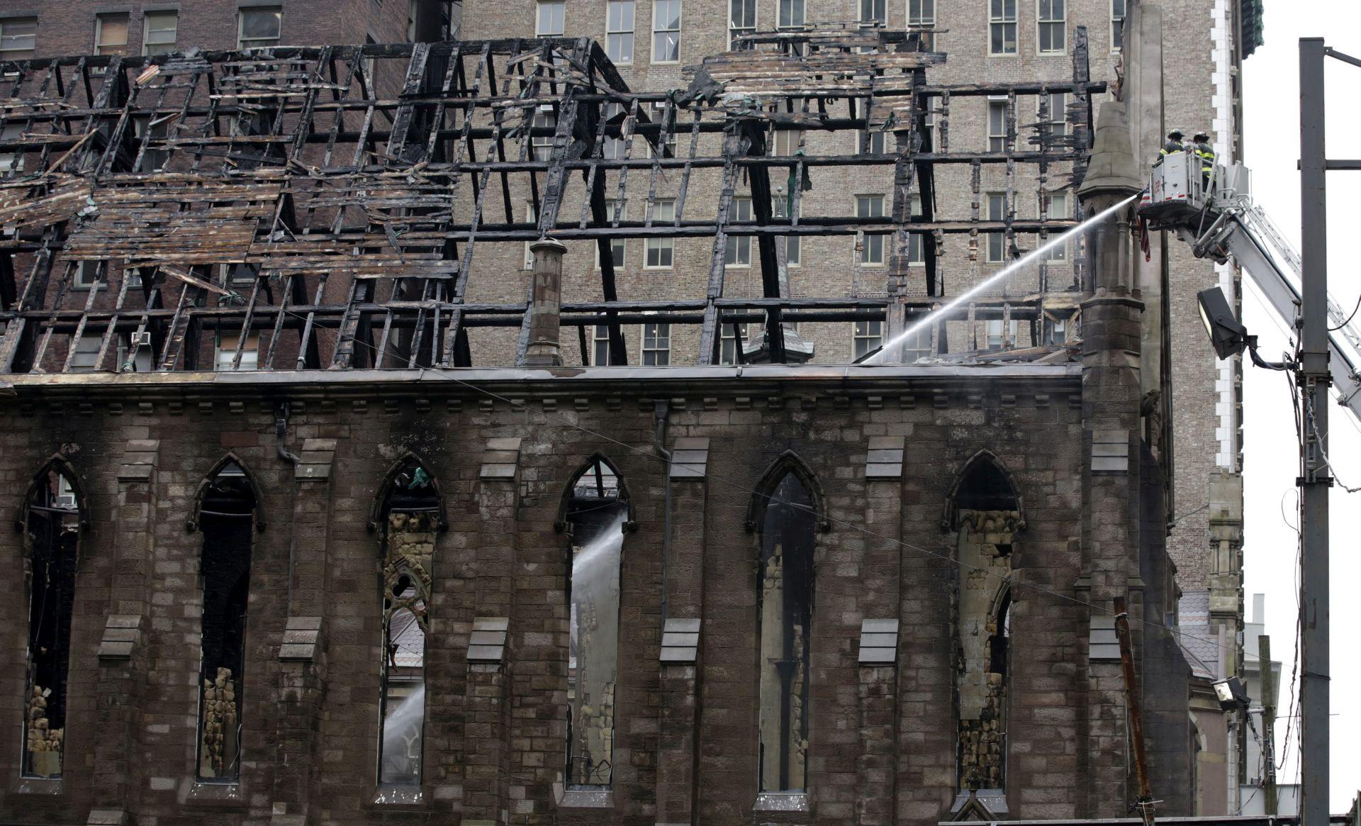 POŽAR U NEW YORKU Srpska zajednica vjeruje da je vatra u crkvi podmetnuta zbog Stepinca