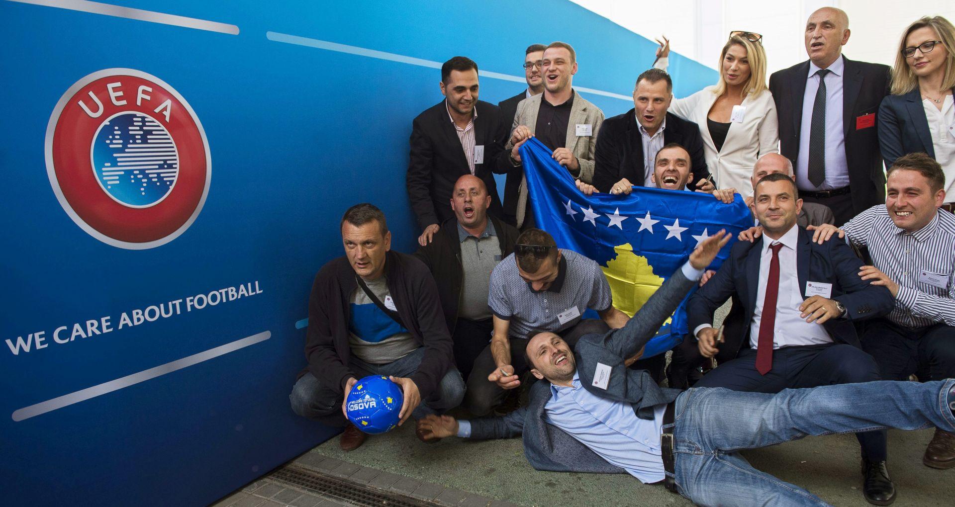 KONGRES U BUDIMPEŠTI kosovo primljeno u UEFA-u kao 55. punopravni član