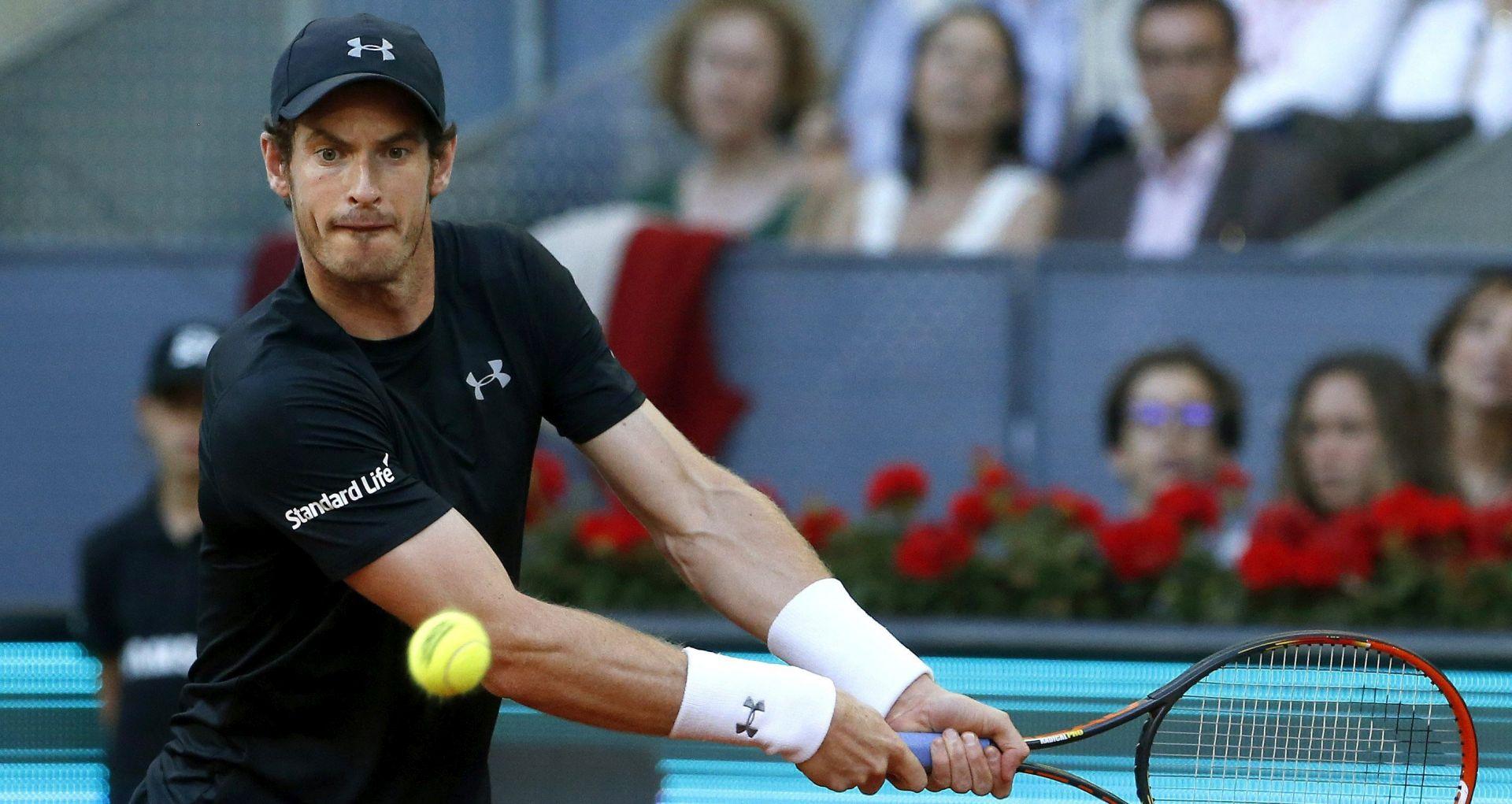 ATP MADRID Andy Murray uvjerljivo slavio protiv Simona