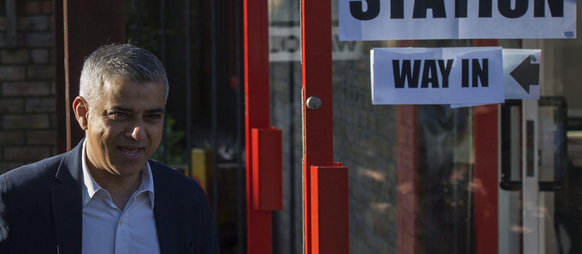 PRVI MUSLIMAN NA ČELU LONDONA Laburist Sadiq Khan izabran za gradonačelnika