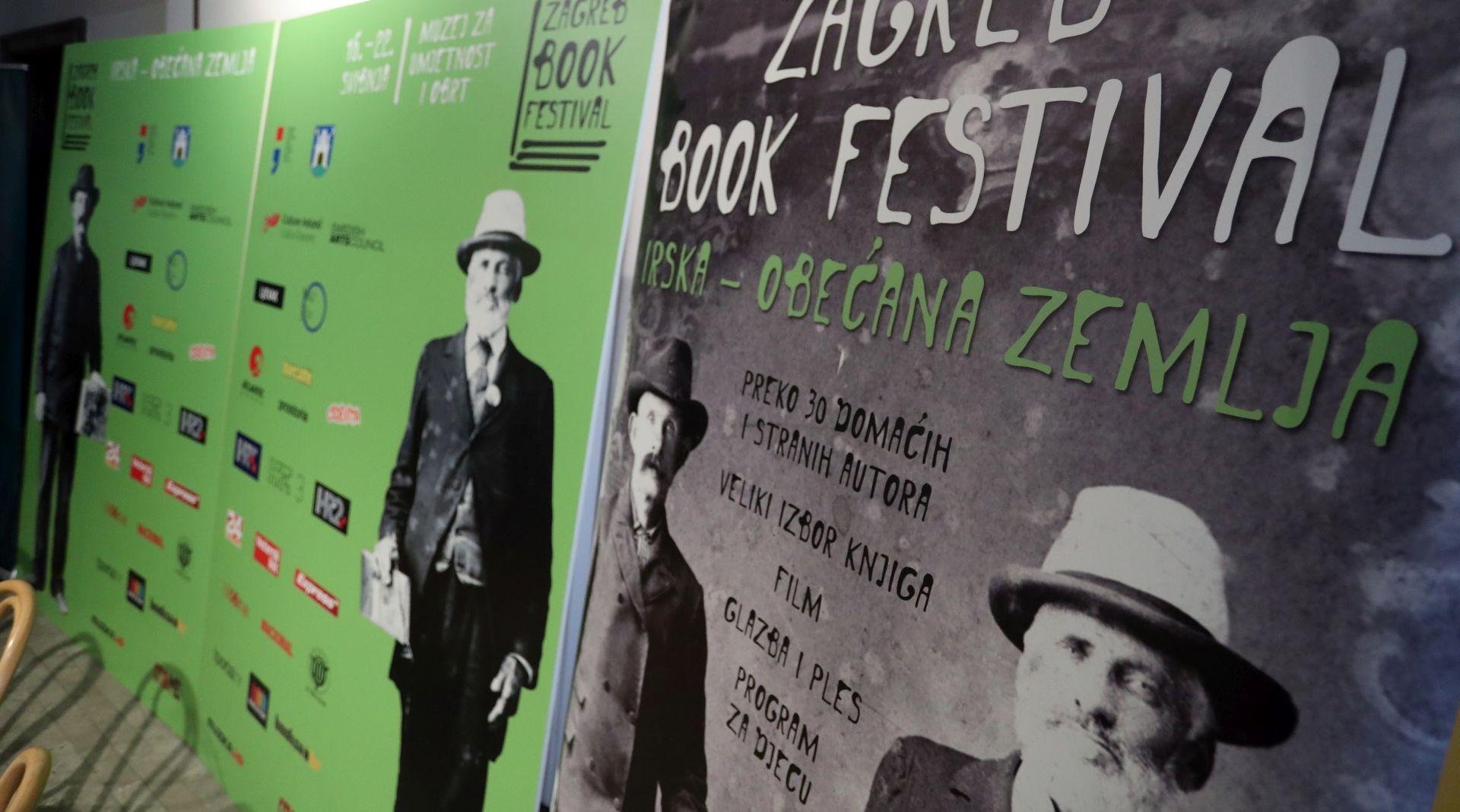 Irska u fokusu drugog izdanja Zagreb Book Festivala