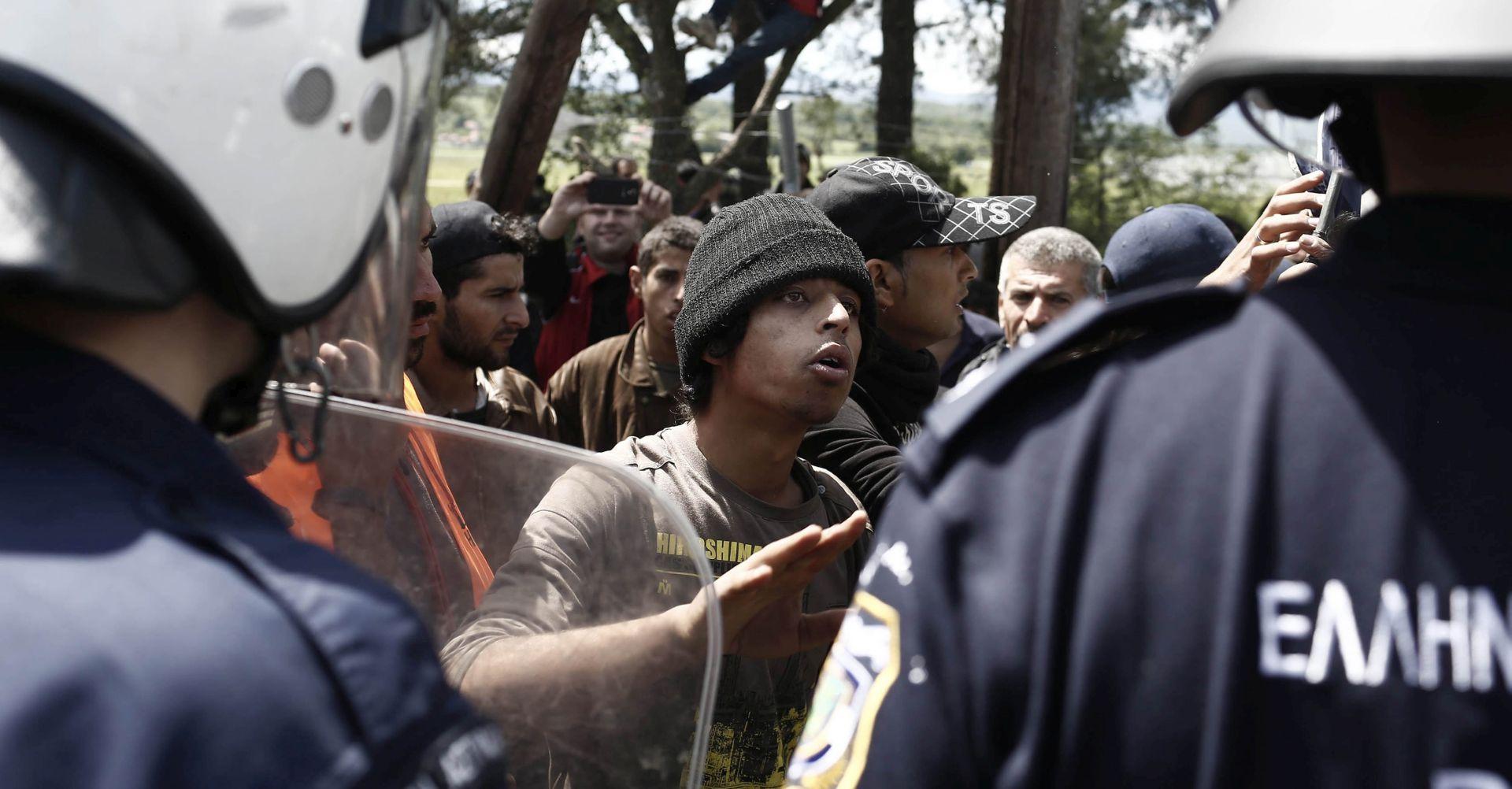 BUGARSKA Tisuću i pol izbjeglica sukobilo se s policijom