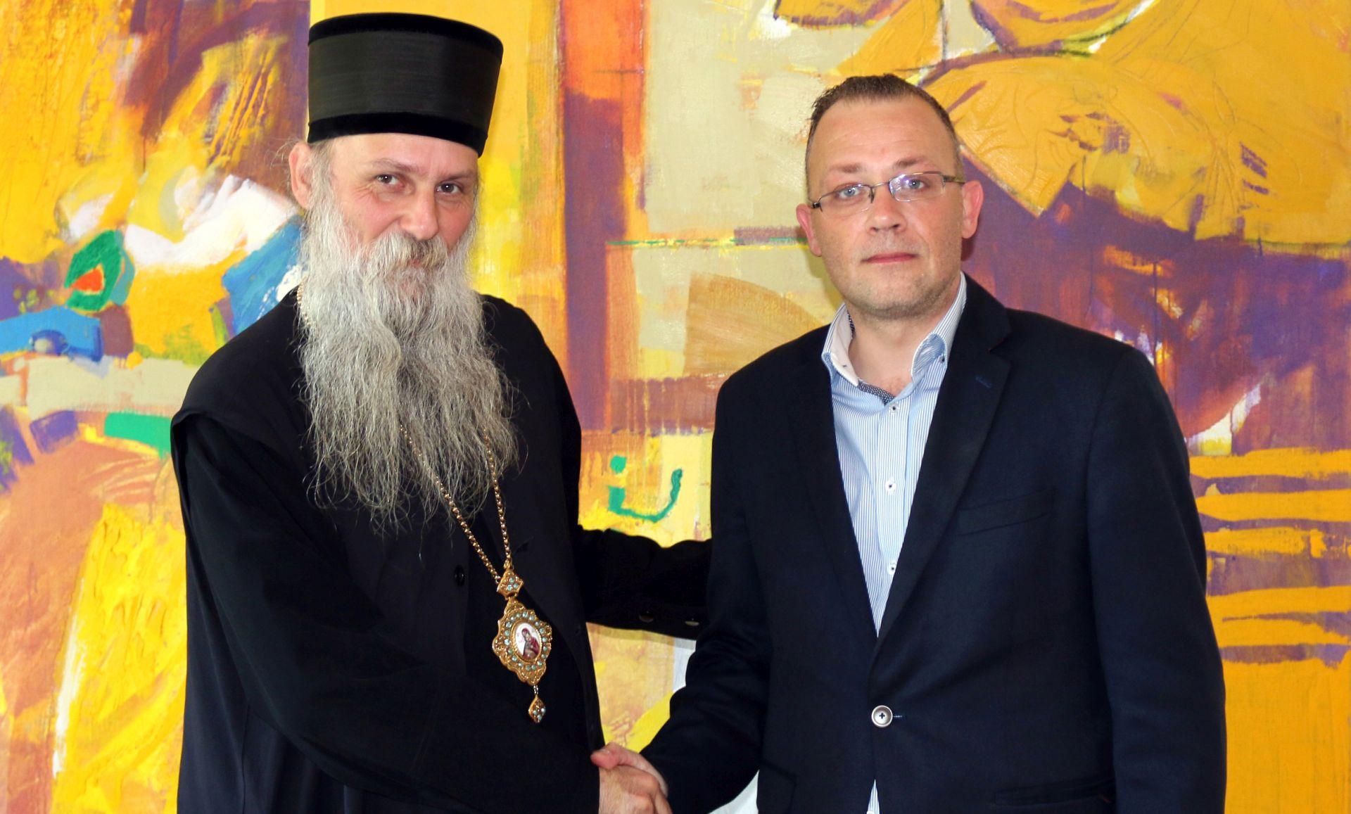 Ministar kulture Zlatko Hasanbegović sastao se s episkopom Jovanom