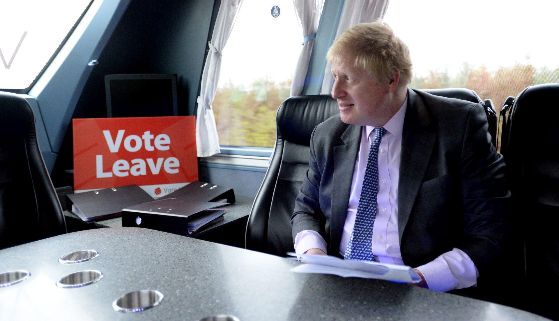 Bivši londonski gradonačelnik Boris Johnson usporedio ciljeve EU-a s Hitlerovim