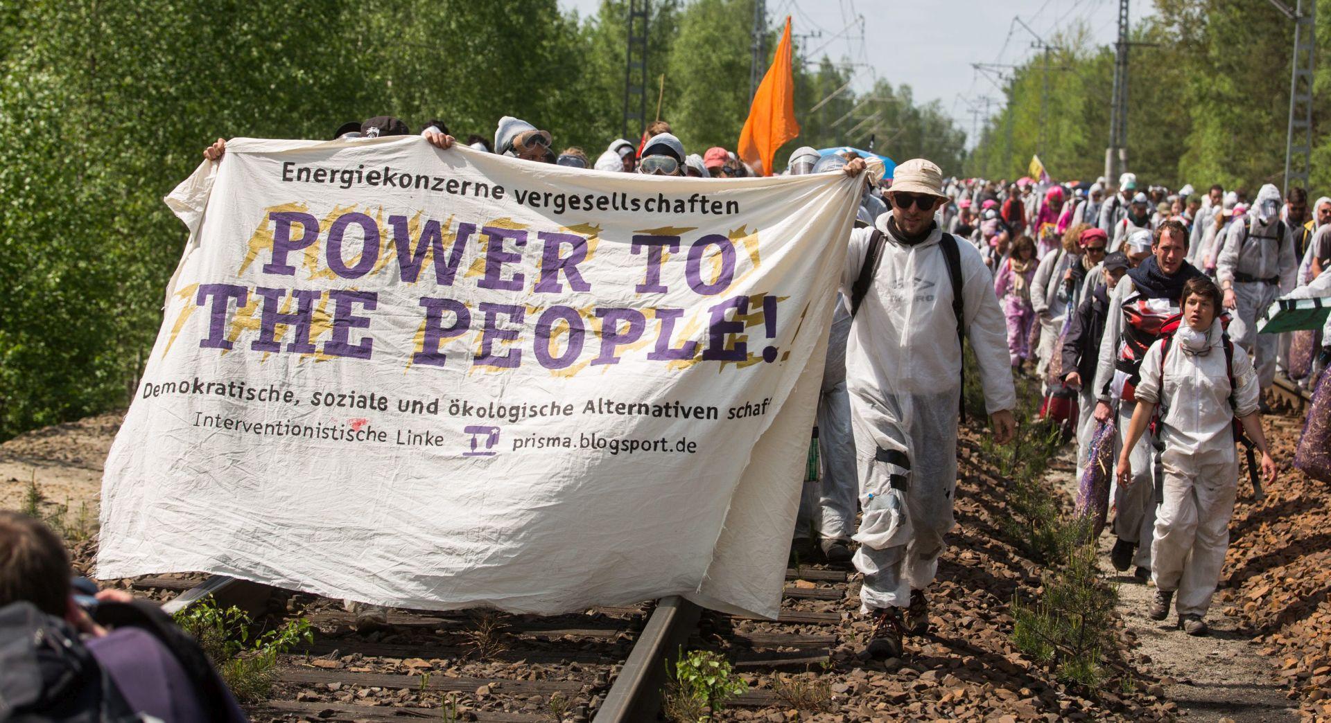 Njemačka: Deseci uhićenih na prosvjedu protiv korištenja ugljena