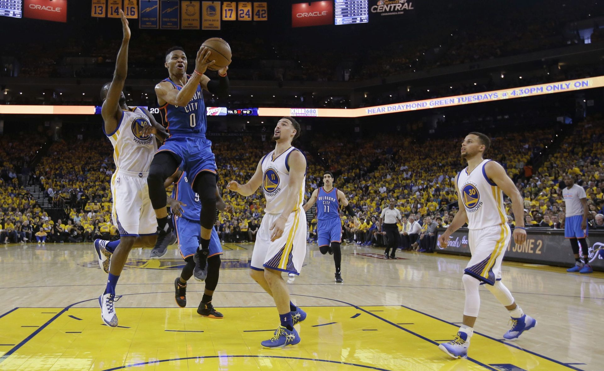 NBA: Oklahoma City slavio protiv aktualnih prvaka