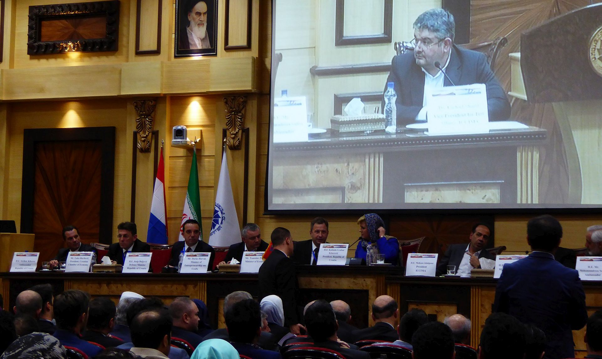 Hrvatski gospodarstvenici u Teheranu: Prvi korak prema povratku na iransko tržište
