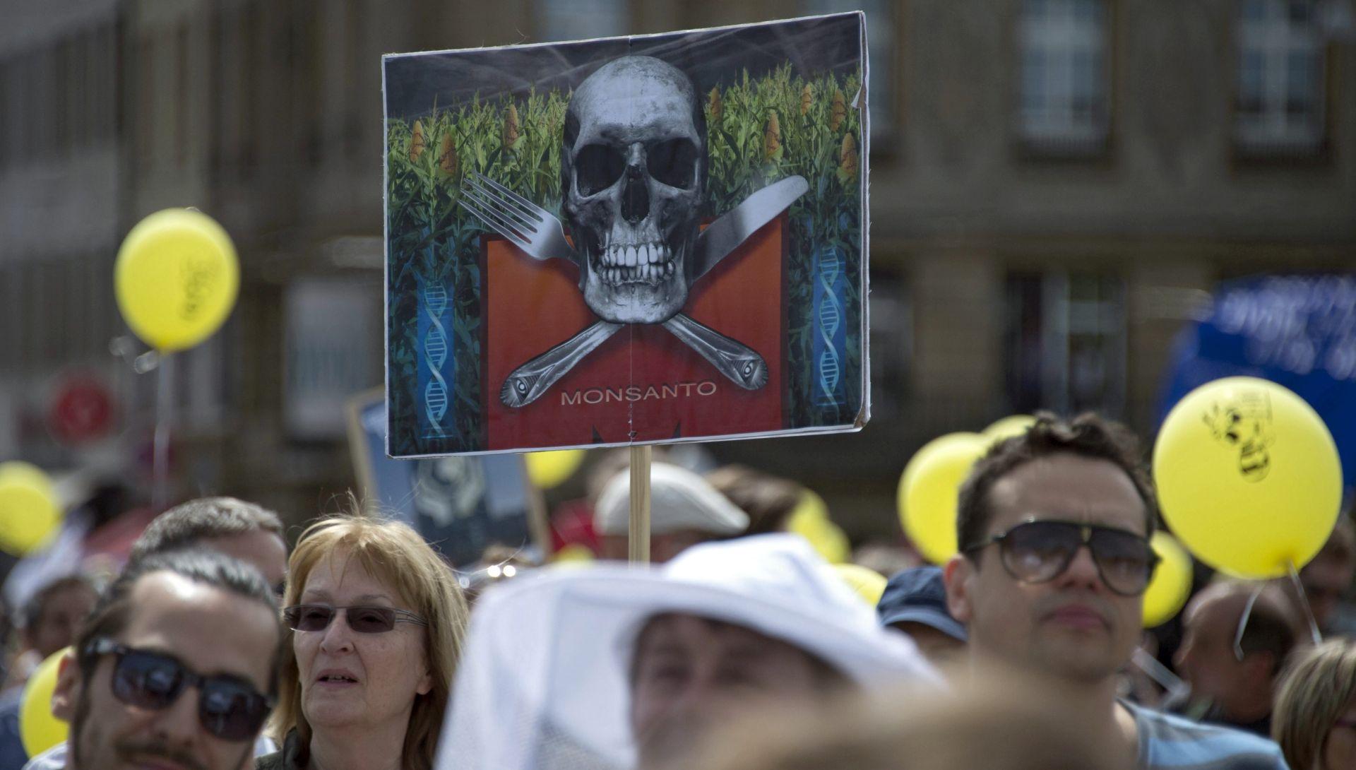 U europskim gradovima prosvjedi protiv Monsanta