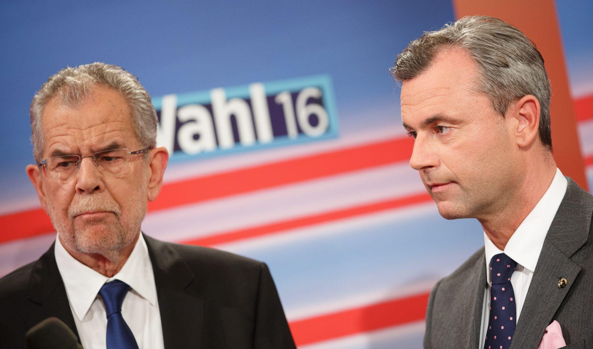 Hofer ili Van der Bellen? Austrija će novog predsjednika čekati do večeri